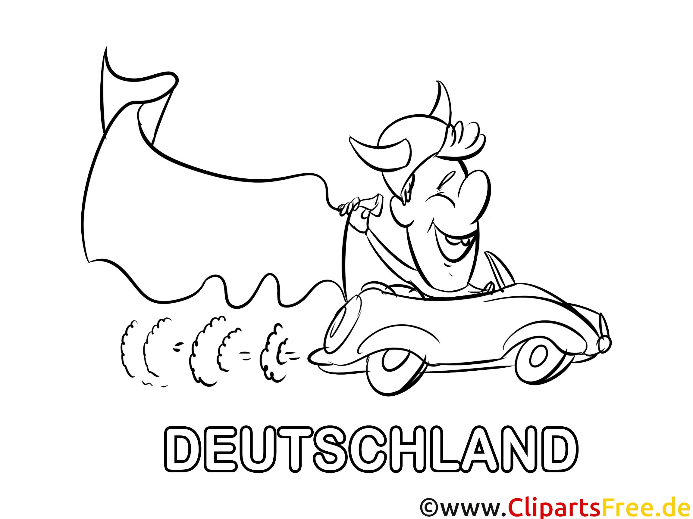 auto ausmalbilder fußball deutschland