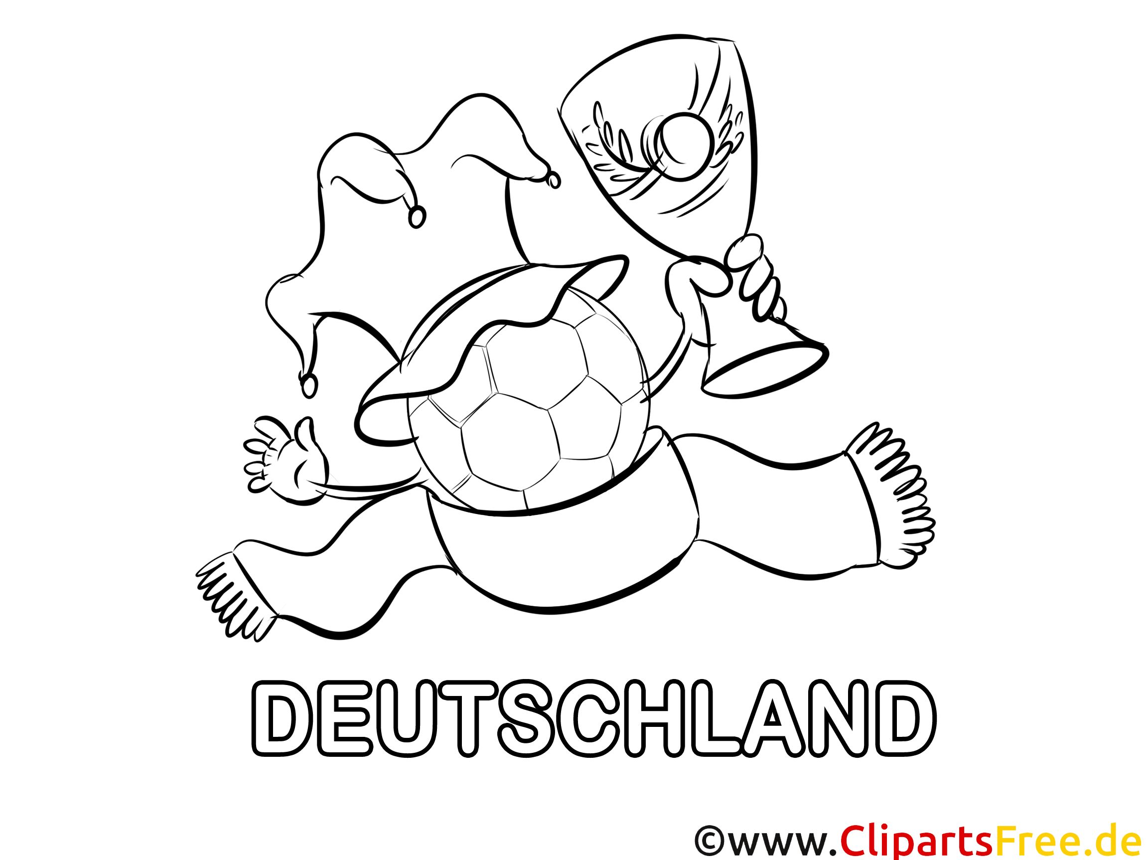 cup ausmalbilder fußball deutschland
