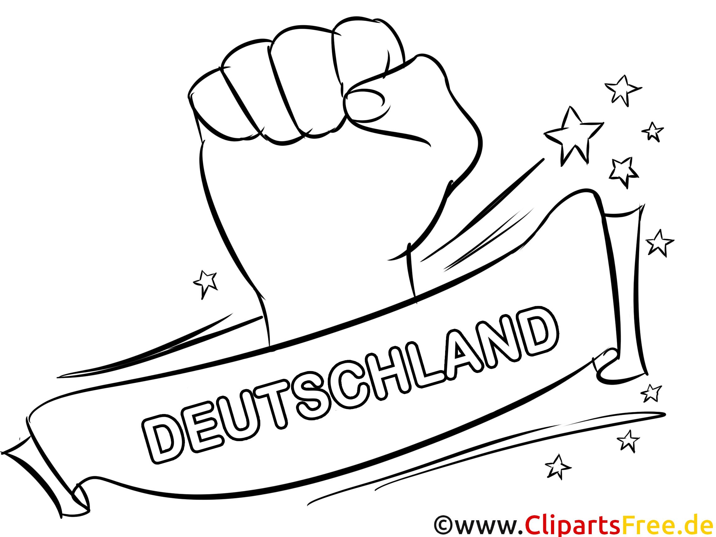 deutschland fussball und sport ausmalbilder