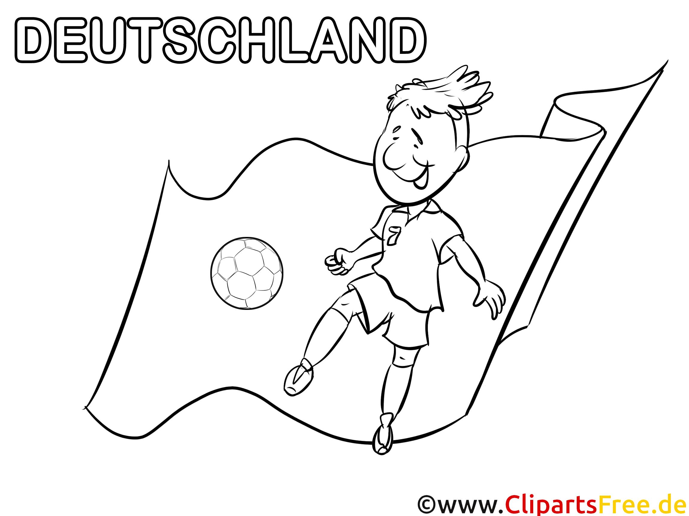 deutschland malvorlagen fußball kostenlos