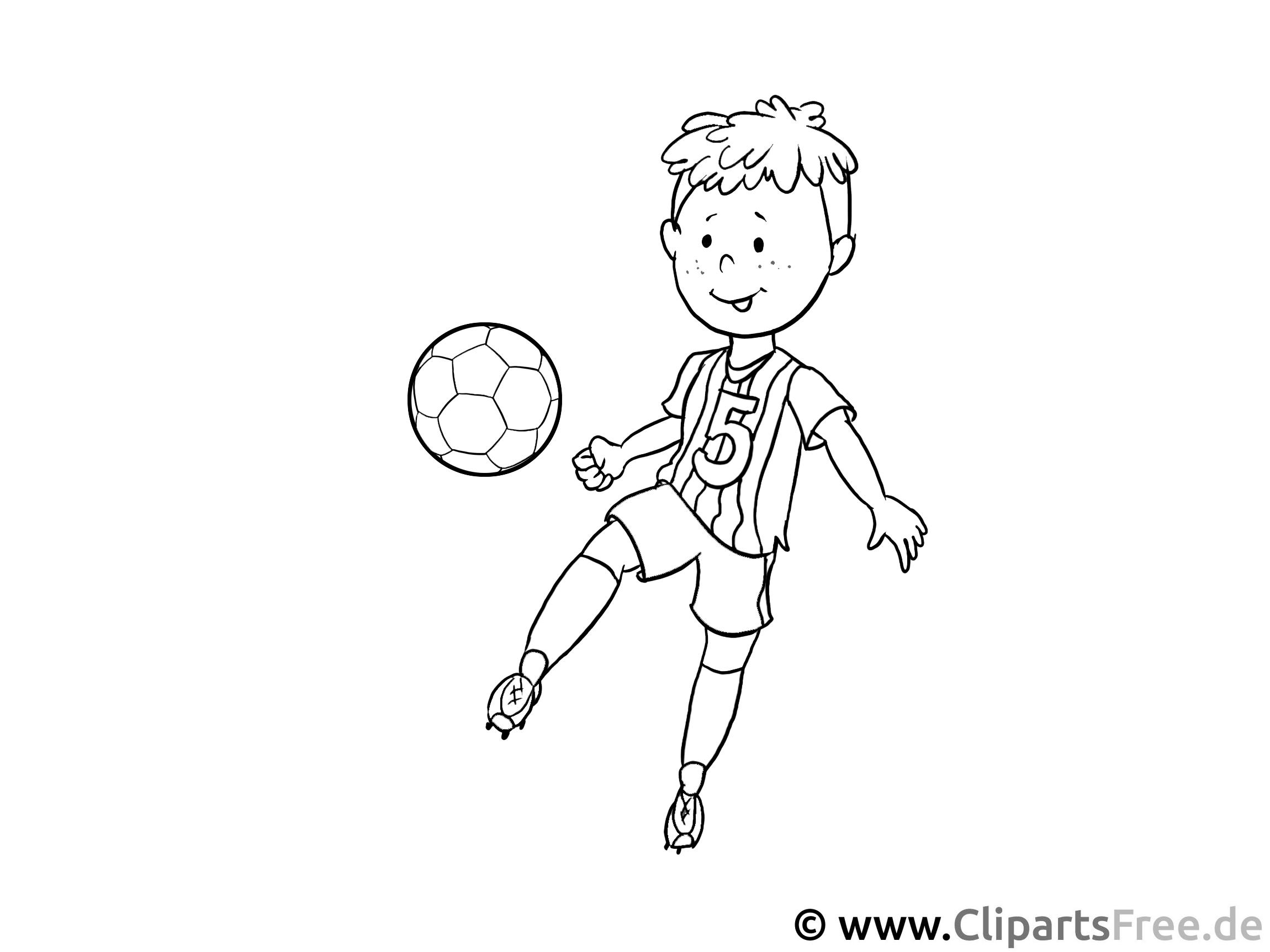 fussball-training malvorlage für kinder