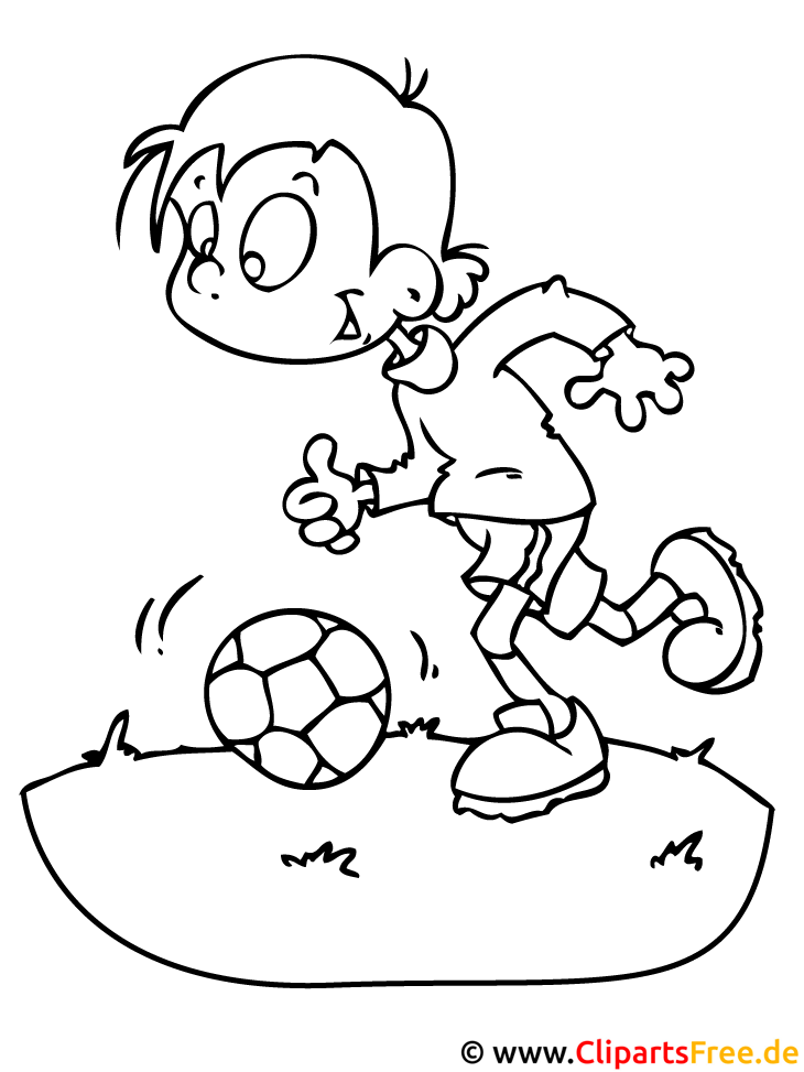fussball malvorlage  einfache malvorlagen kostenlos