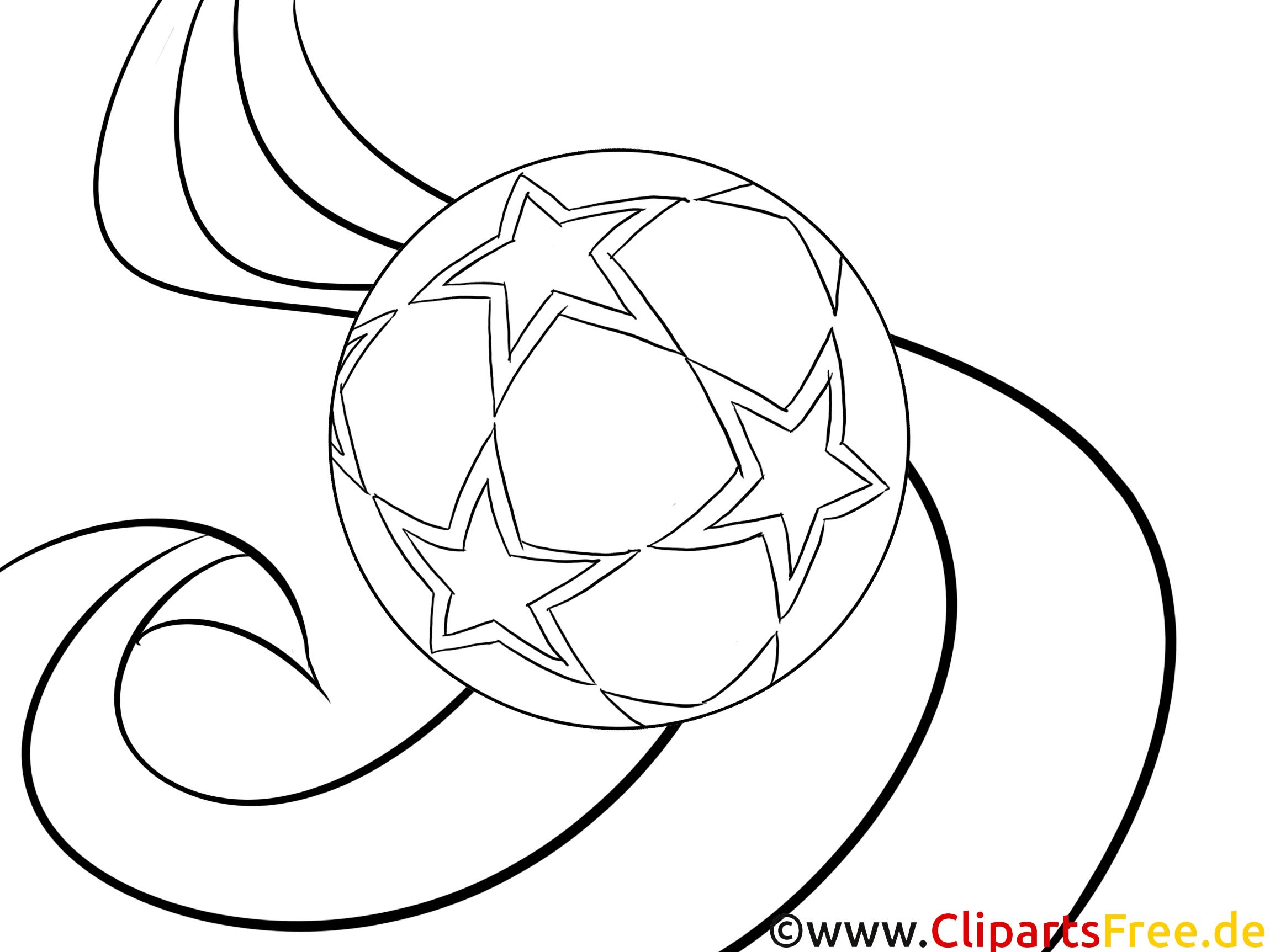 fussball vorlage zum drucken und ausmalen