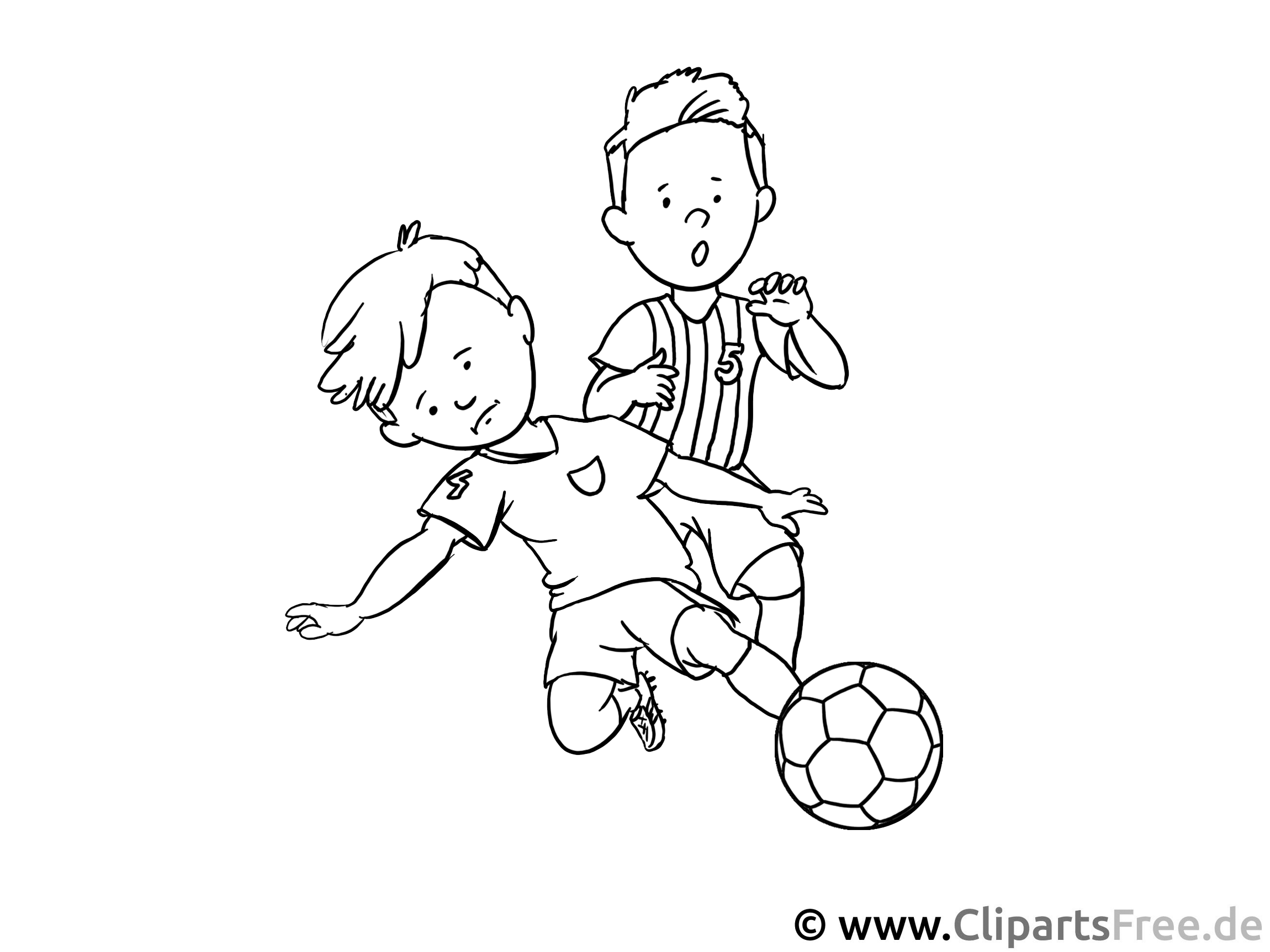 jungs spielen fussball malvorlage  kostenlose arbeitsblätter