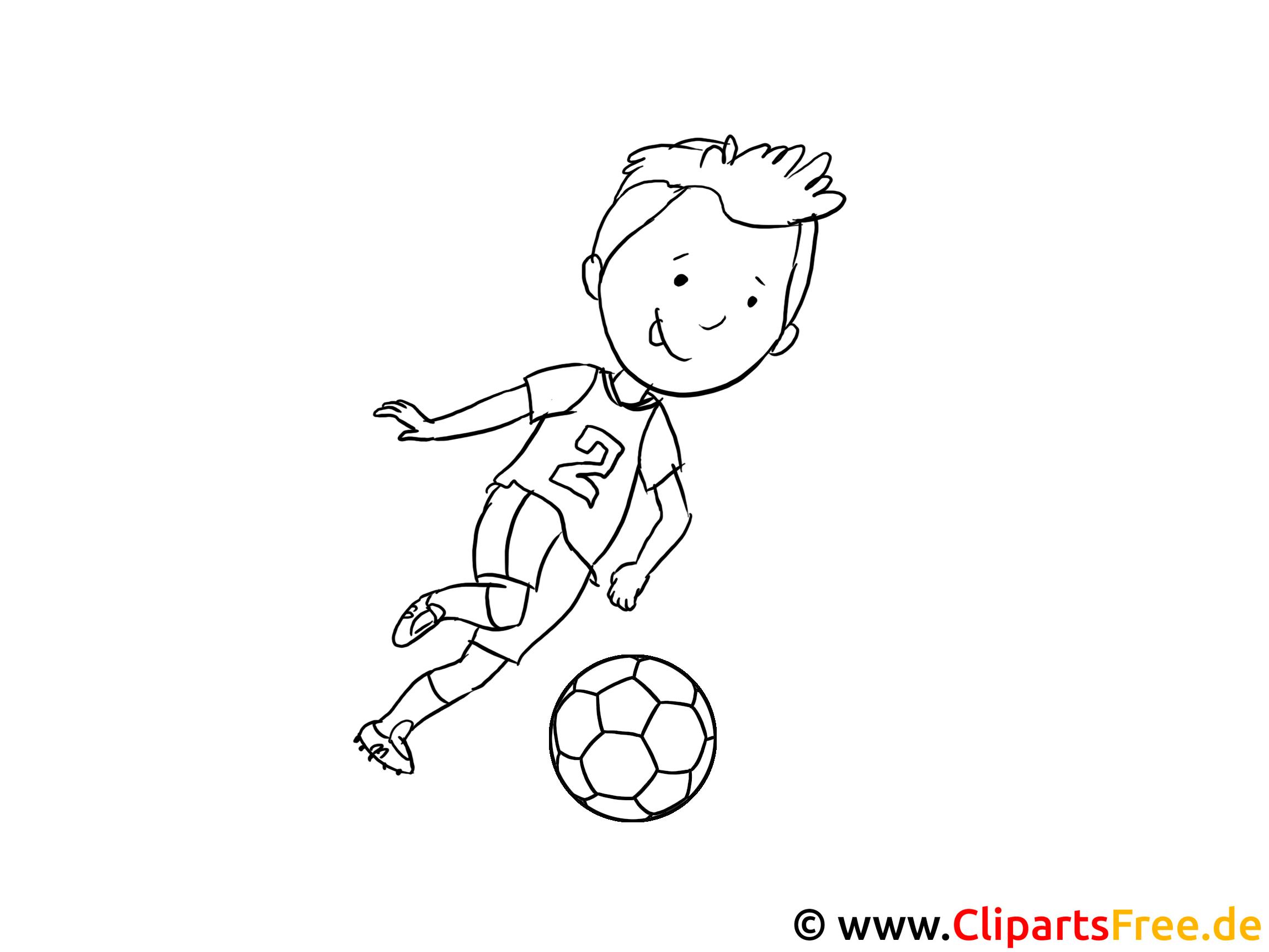 Malbilder Fussball