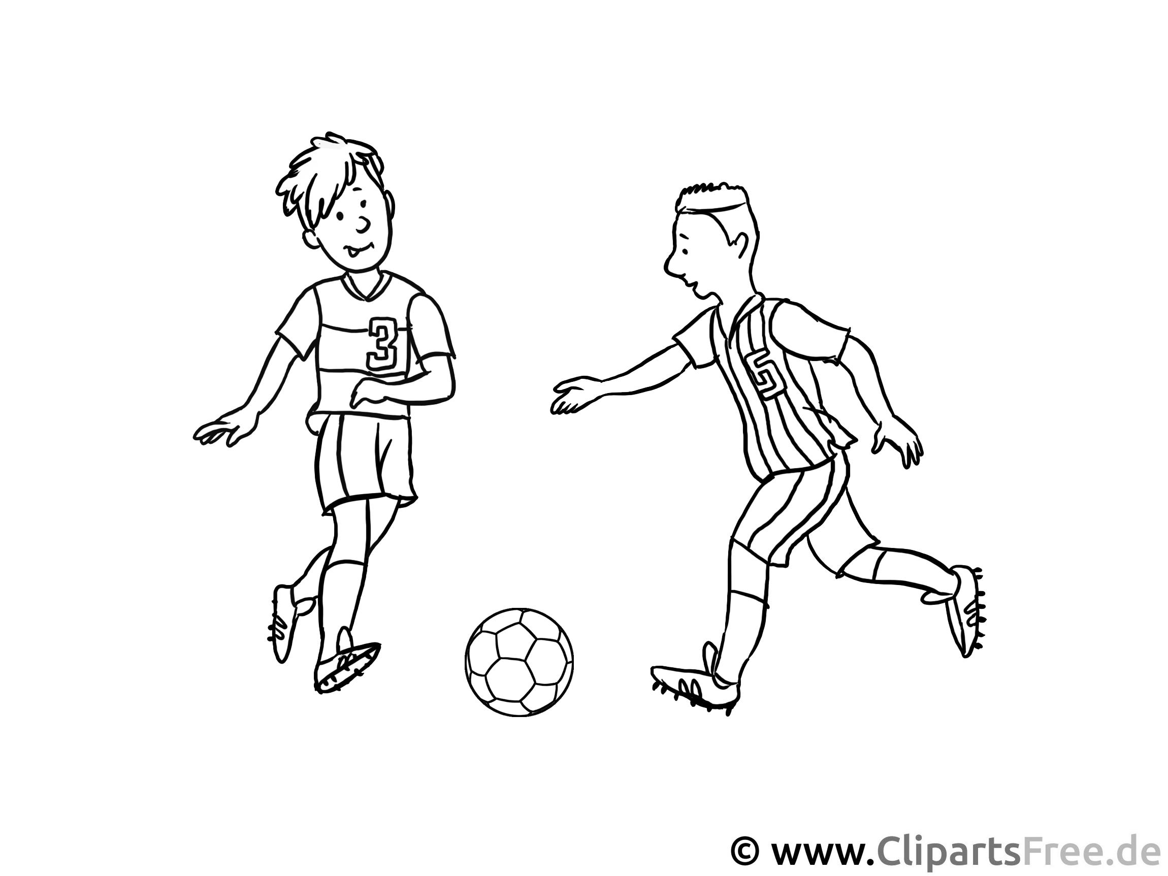 malvorlagen fussball