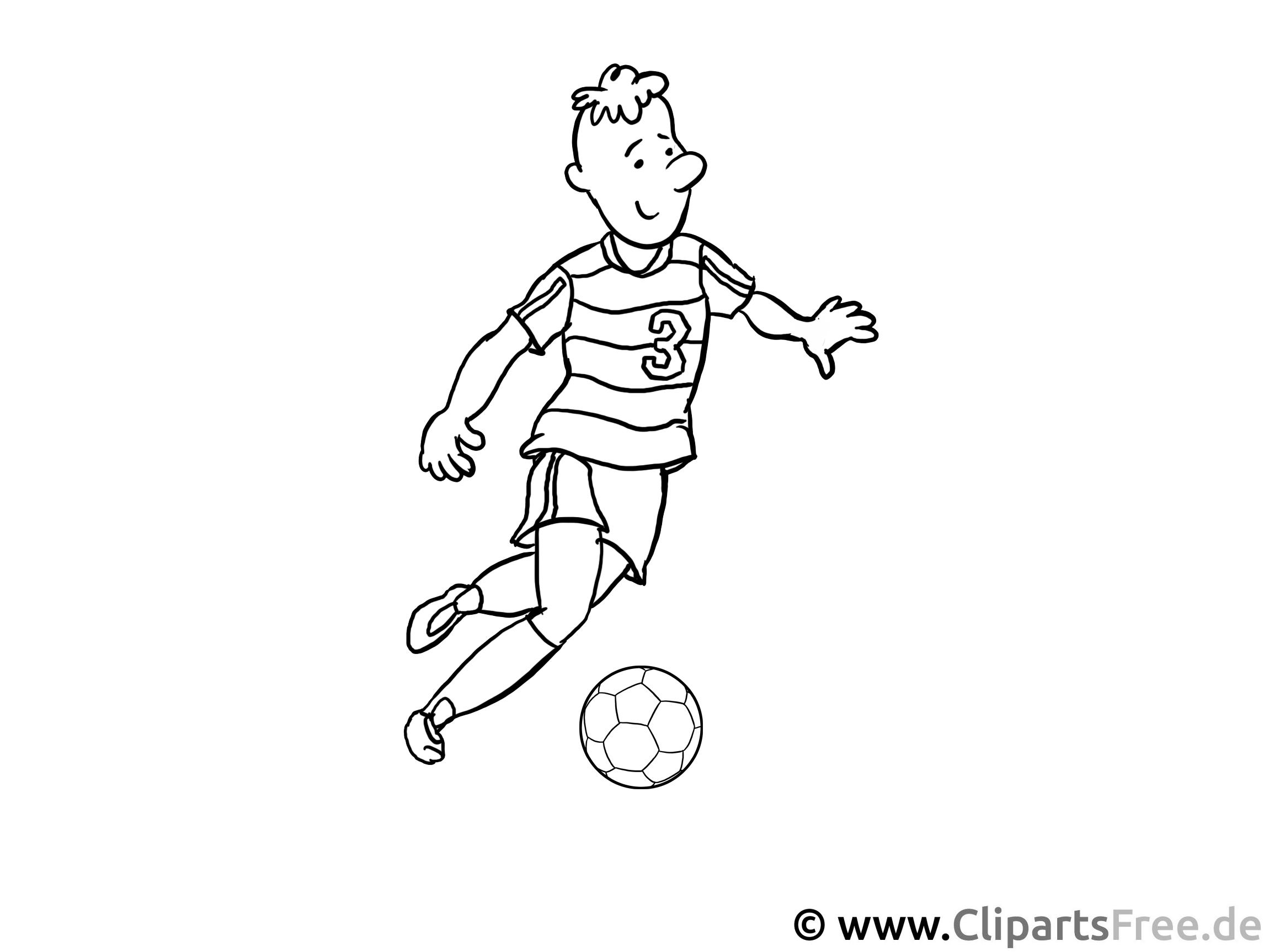 malvorlagen fußball für unterricht in schule und kiga