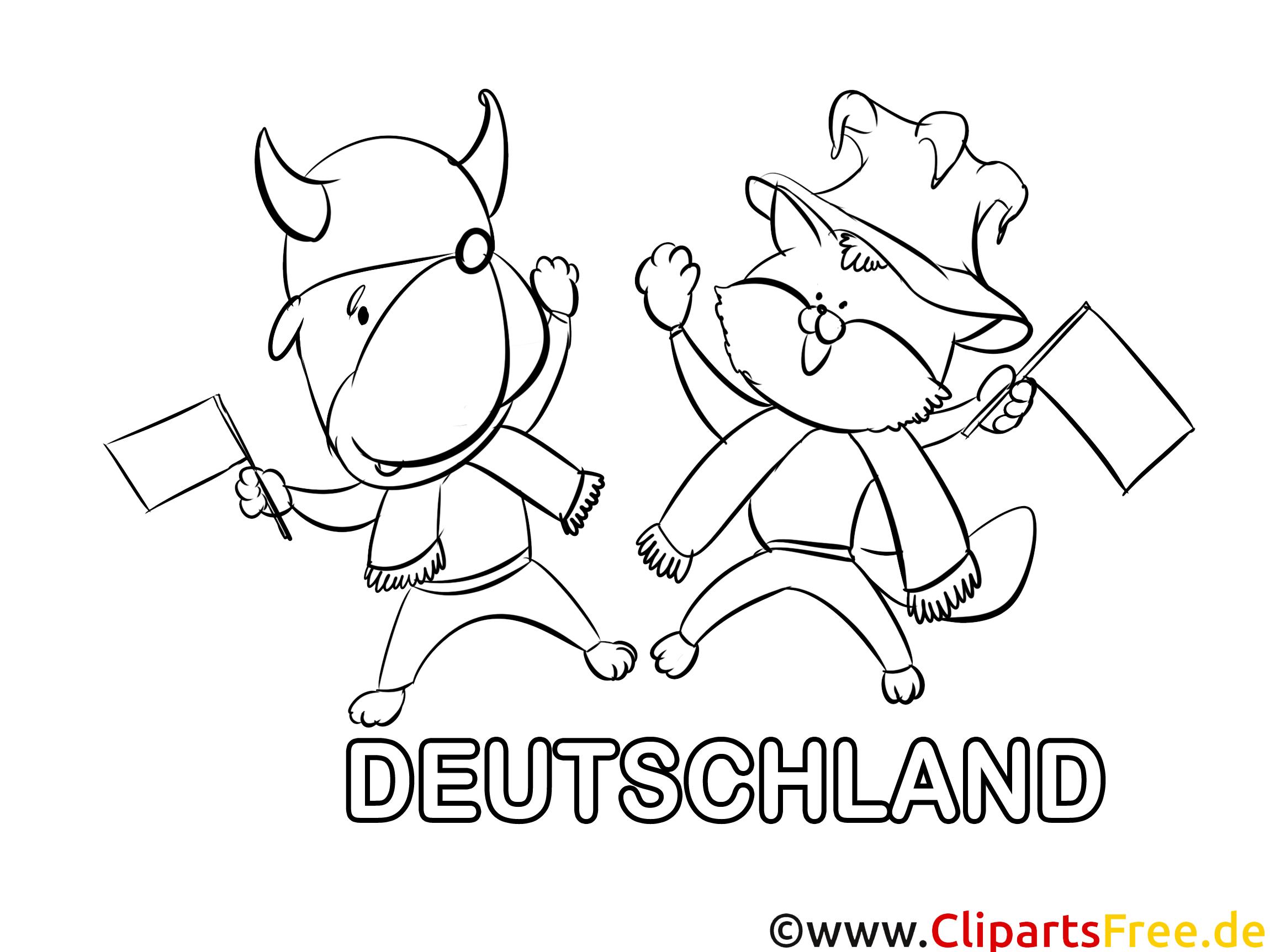 tiere ausmalbilder fußball deutschland
