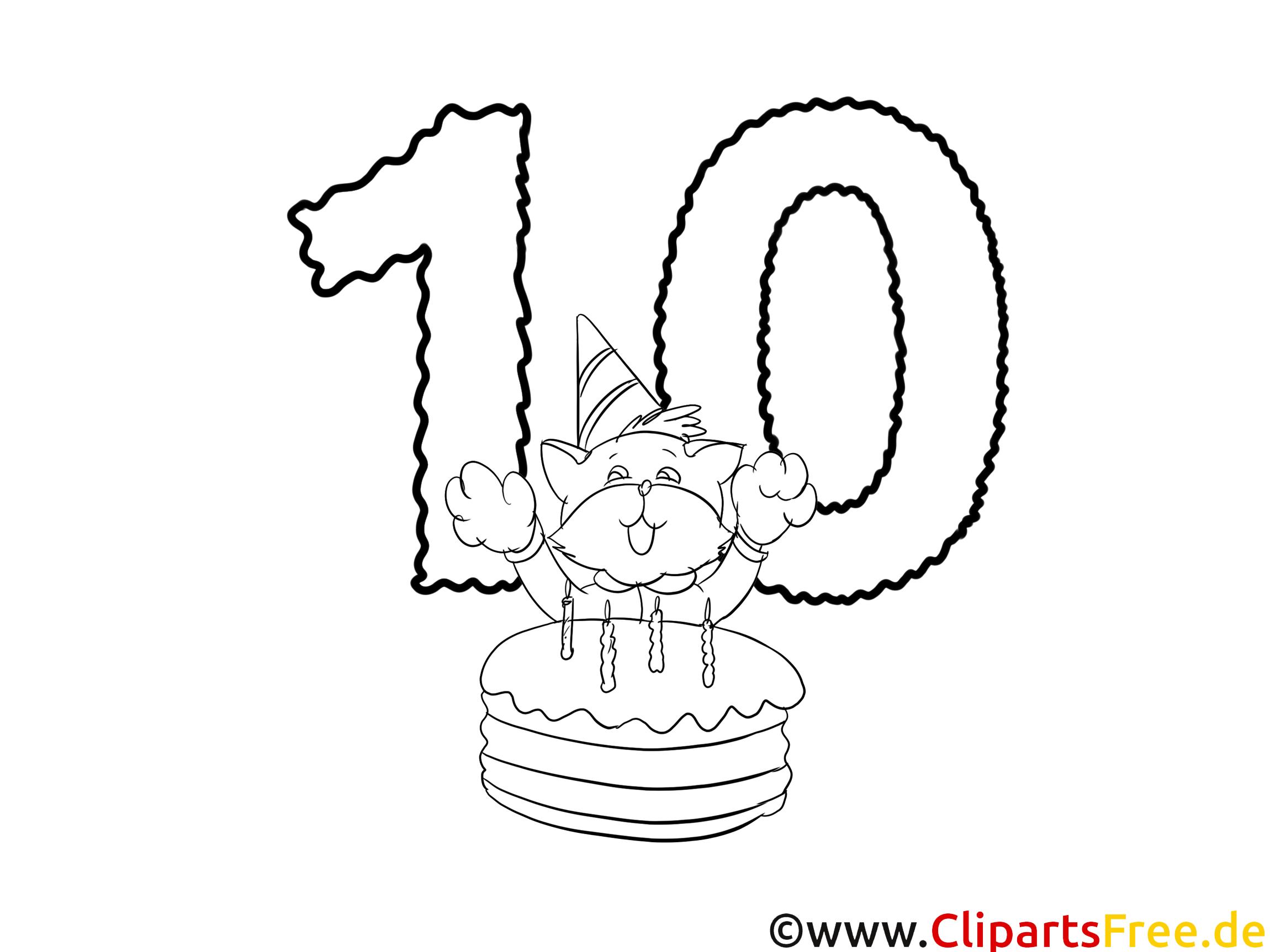 Happy Birthday Colouring Page PDF