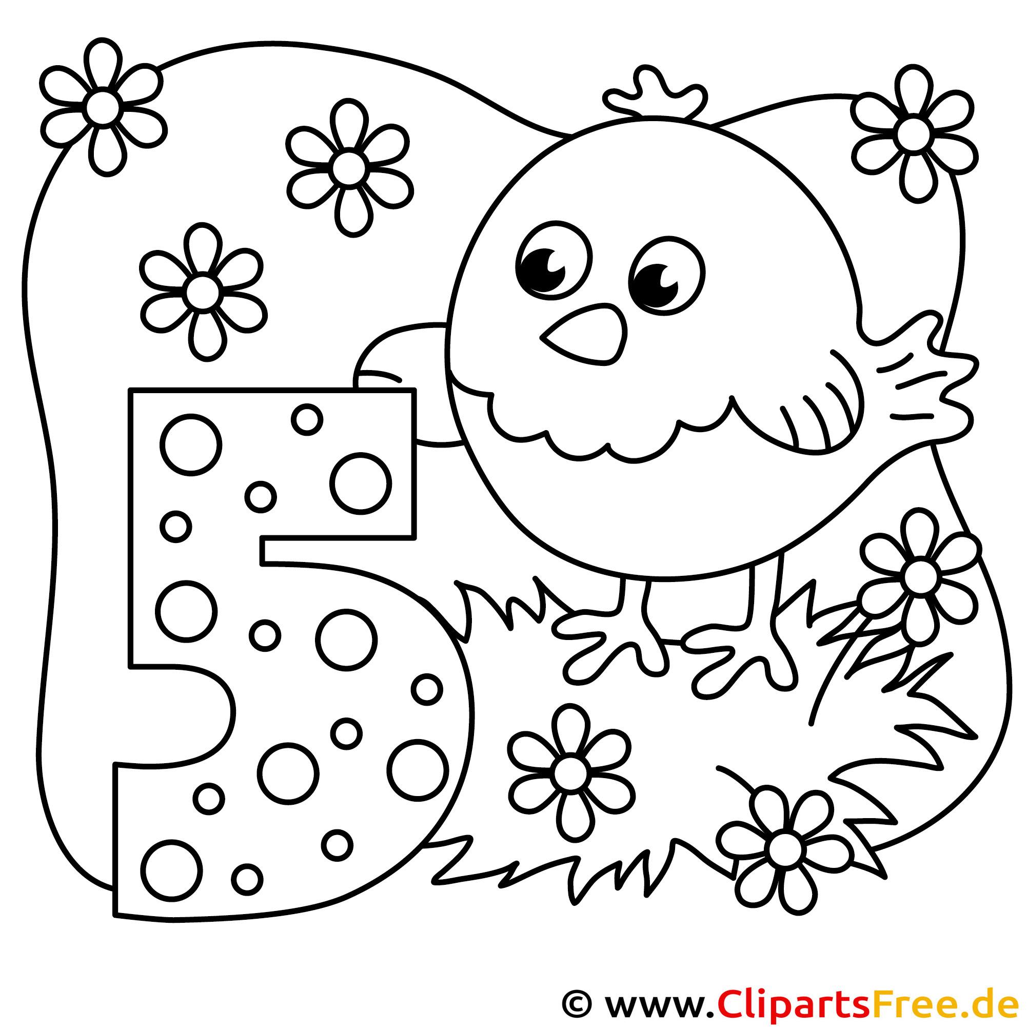 küken pdfausmalbild zum kindergeburtstag