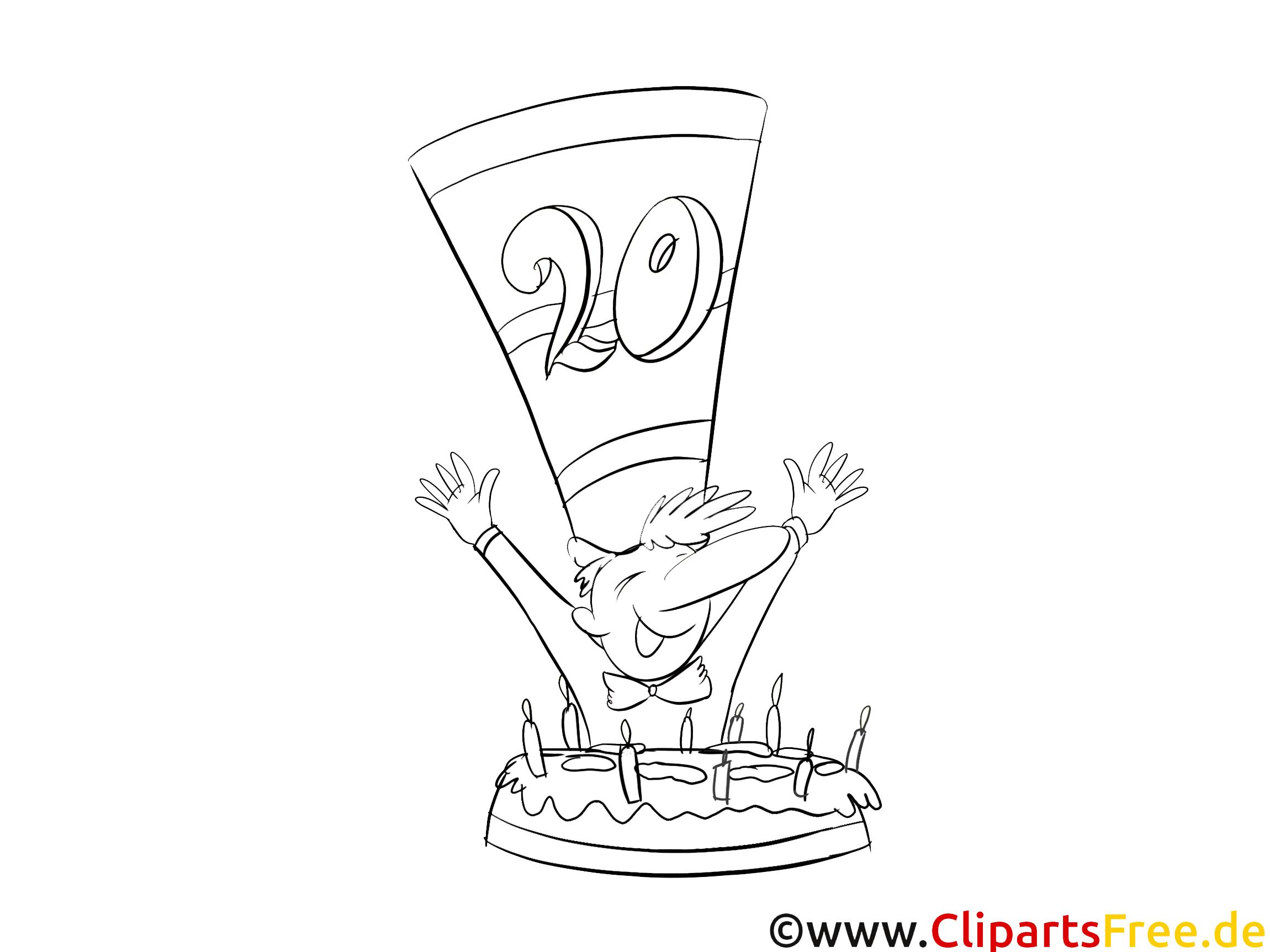 Mal Bild zum Geburtstag