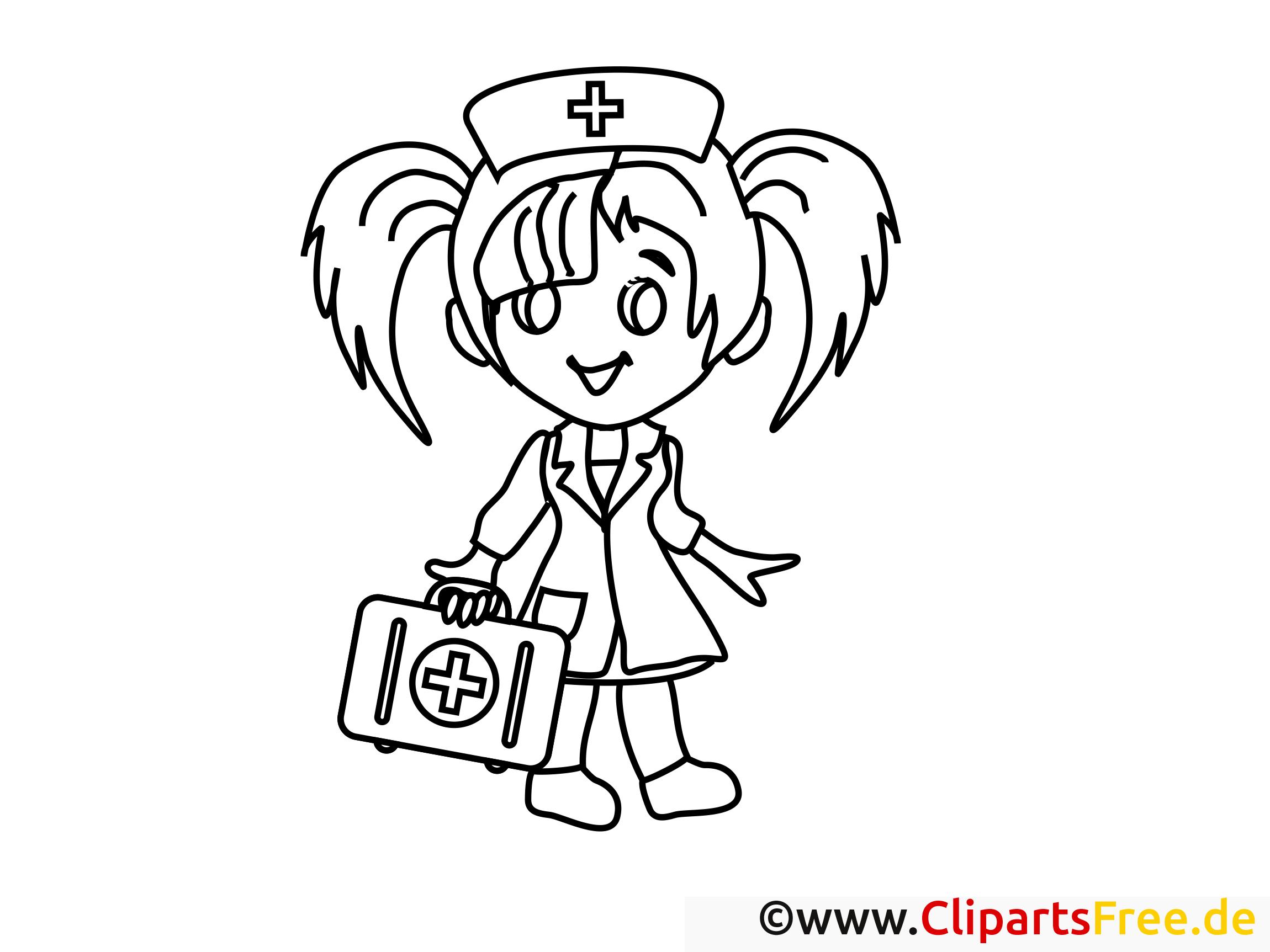 Arzt zum Ausmalen gratis