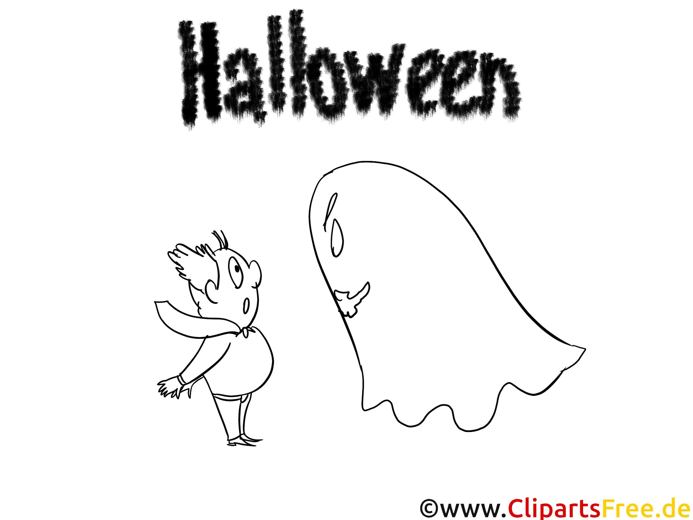Ausmalbilder für Halloween zum Ausdrucken