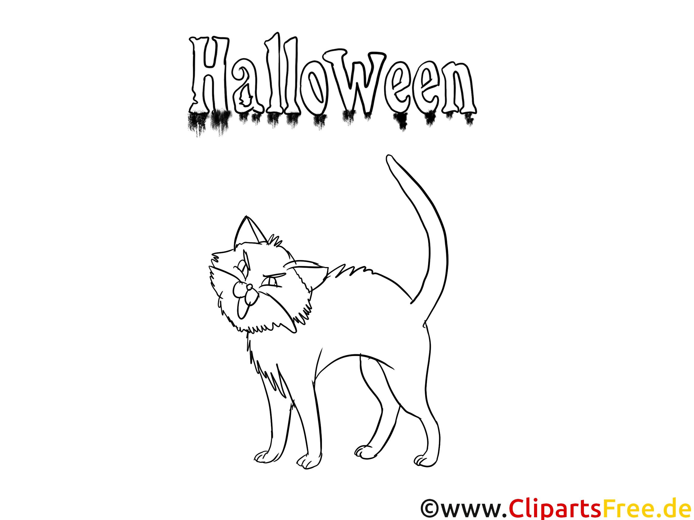 Ausmalvorlagen Halloween