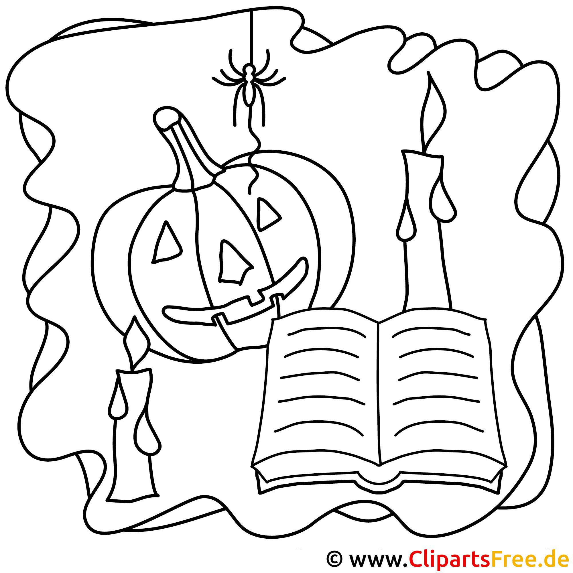 halloween bilder zum ausmalen kostenlos