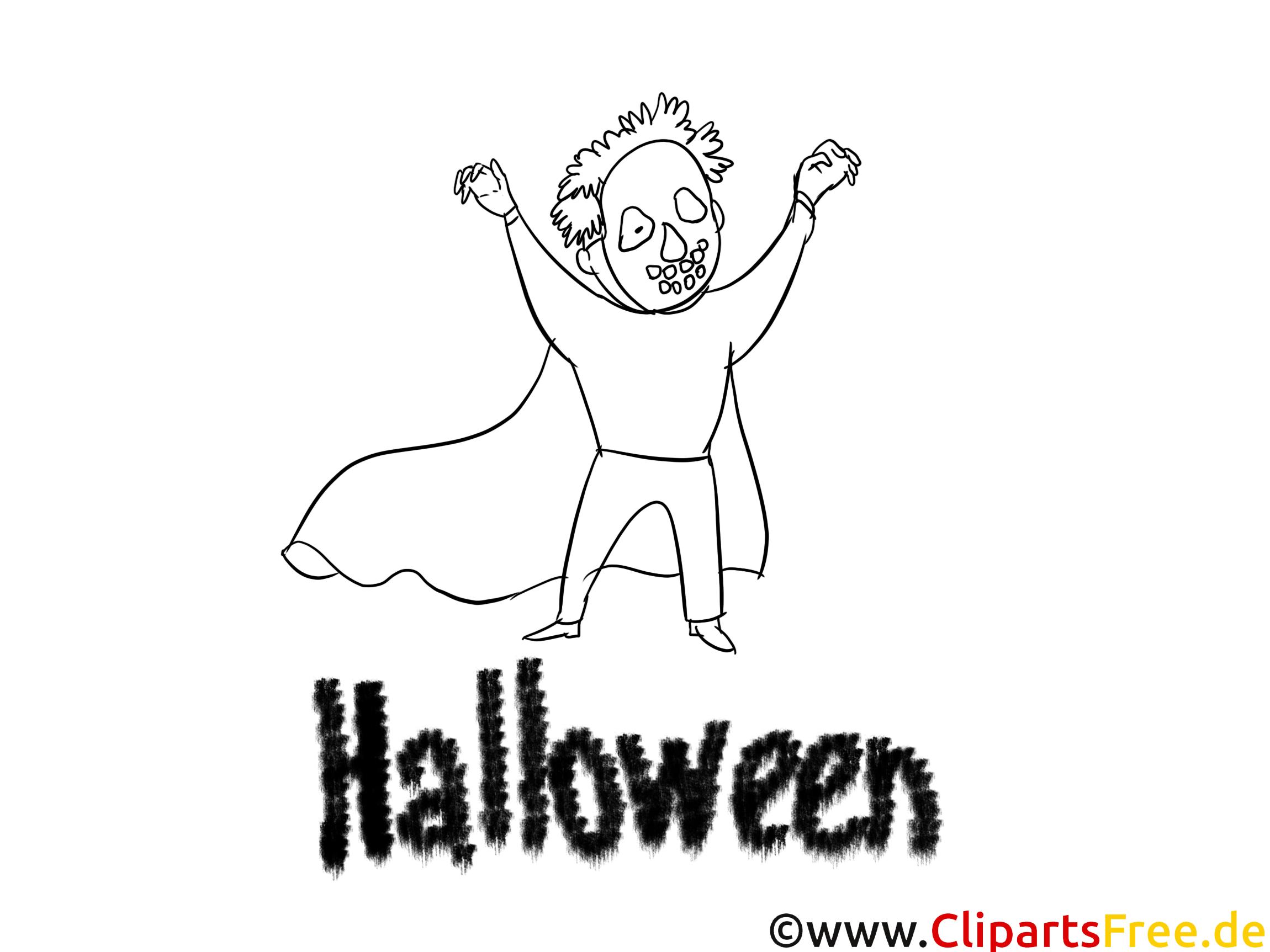 Halloween Zeichnung
