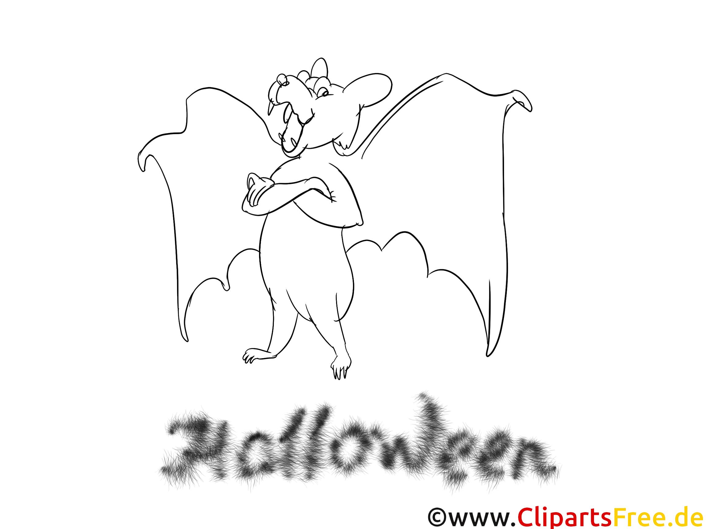 Malbild zu Halloween