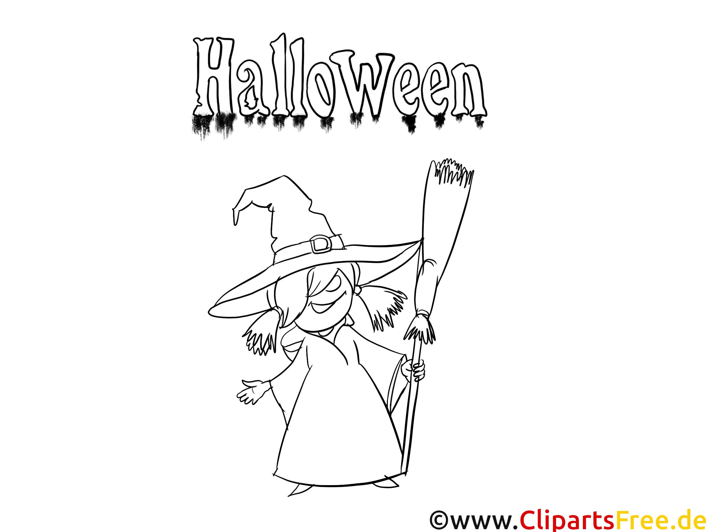 Malen Vorlagen zum Halloween