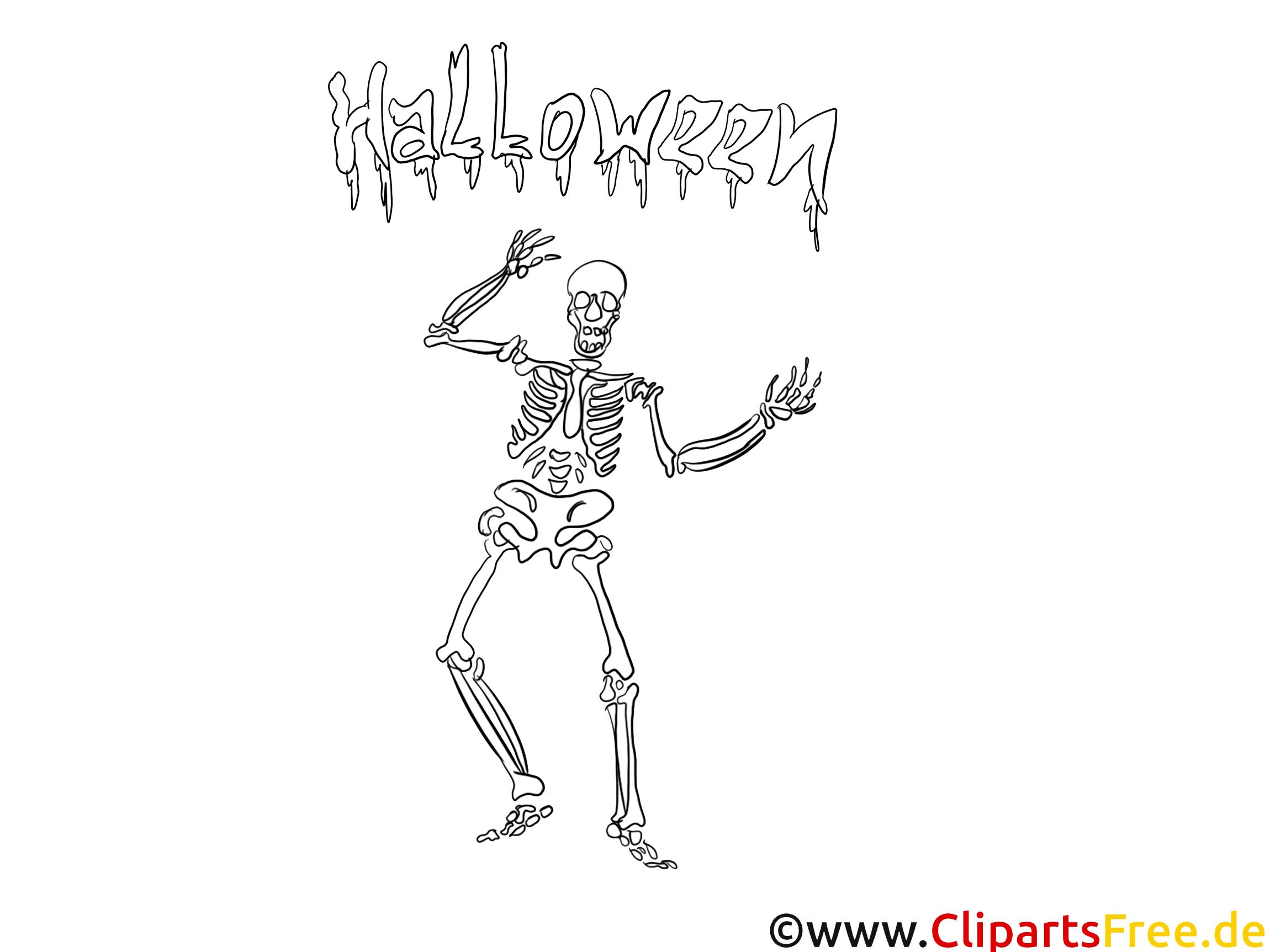 Malvorlage zu Halloween für Erwachsene