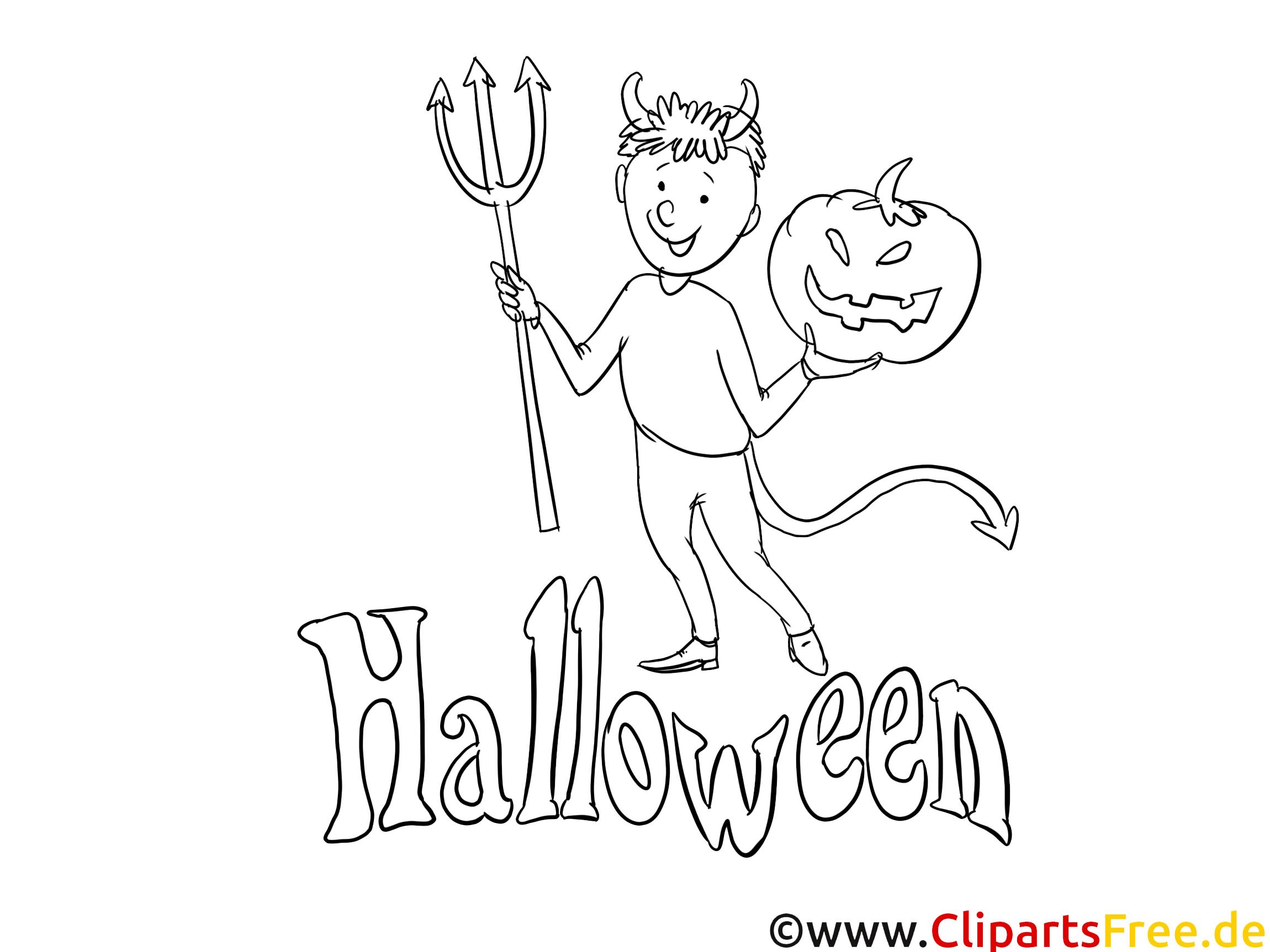 Malvorlagen für Erwachsene Halloween