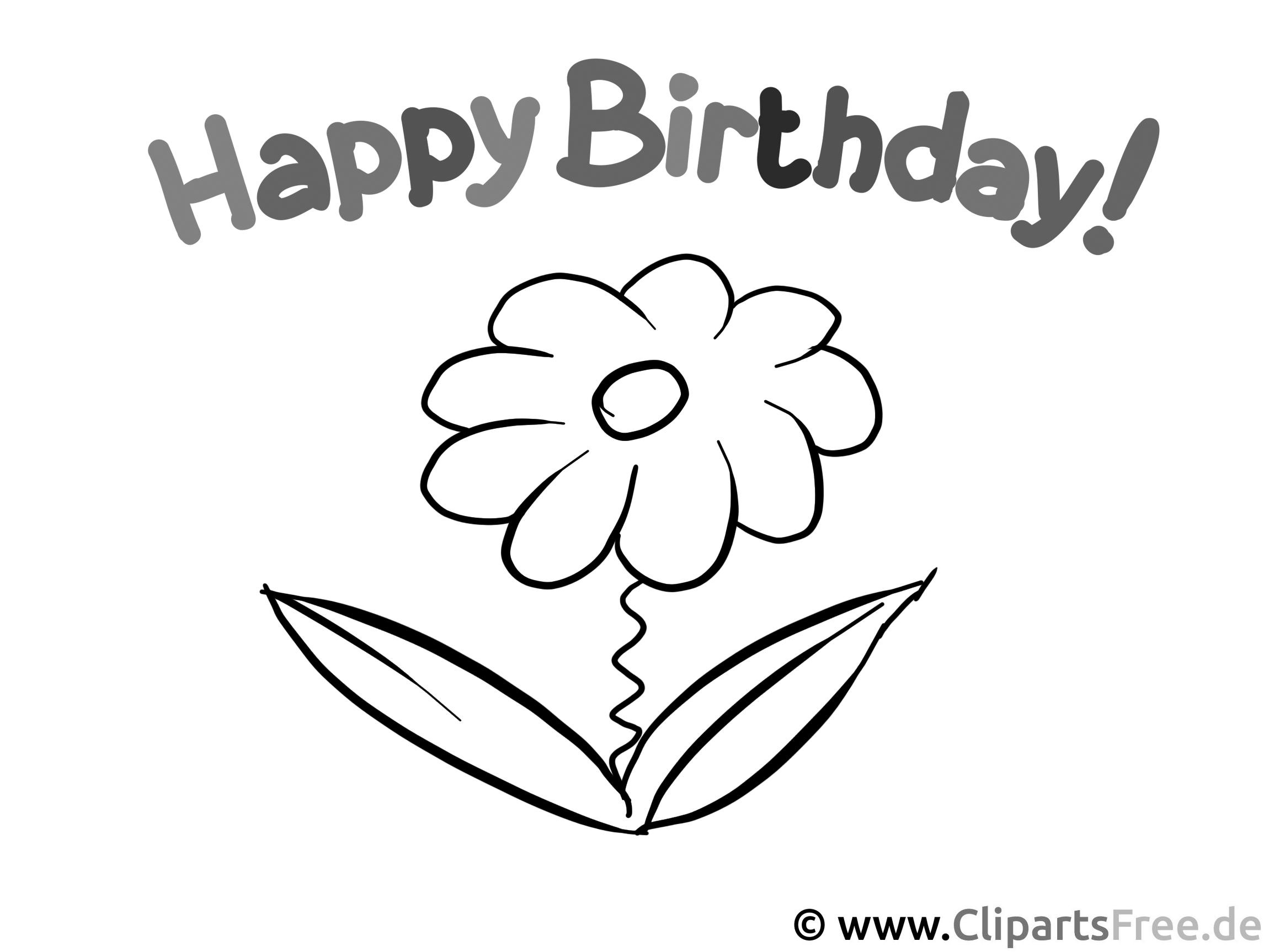 happy birthday  malvorlagen für kinder