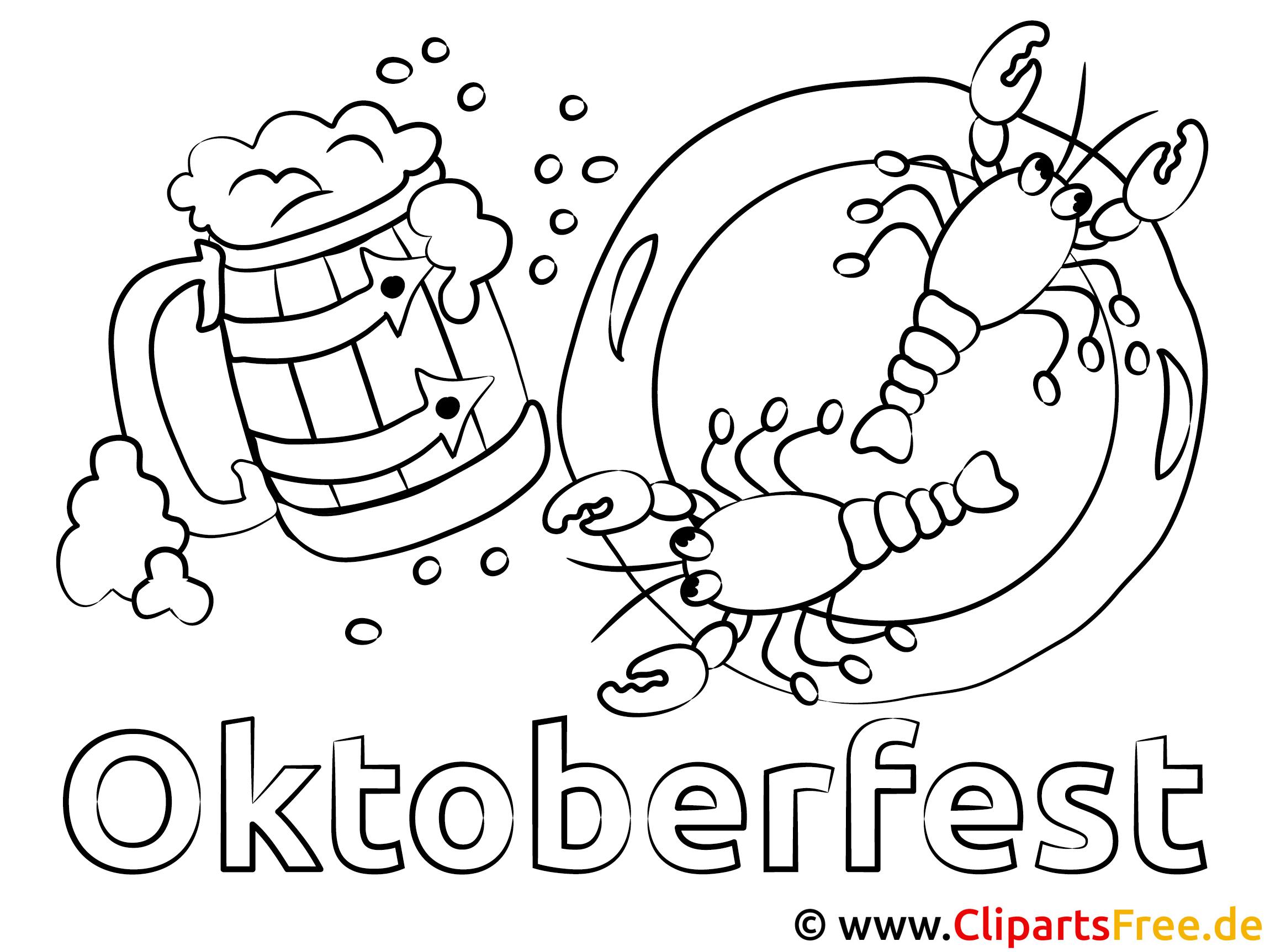 oktoberfest ausmalbilder vorlagen zum ausmalen