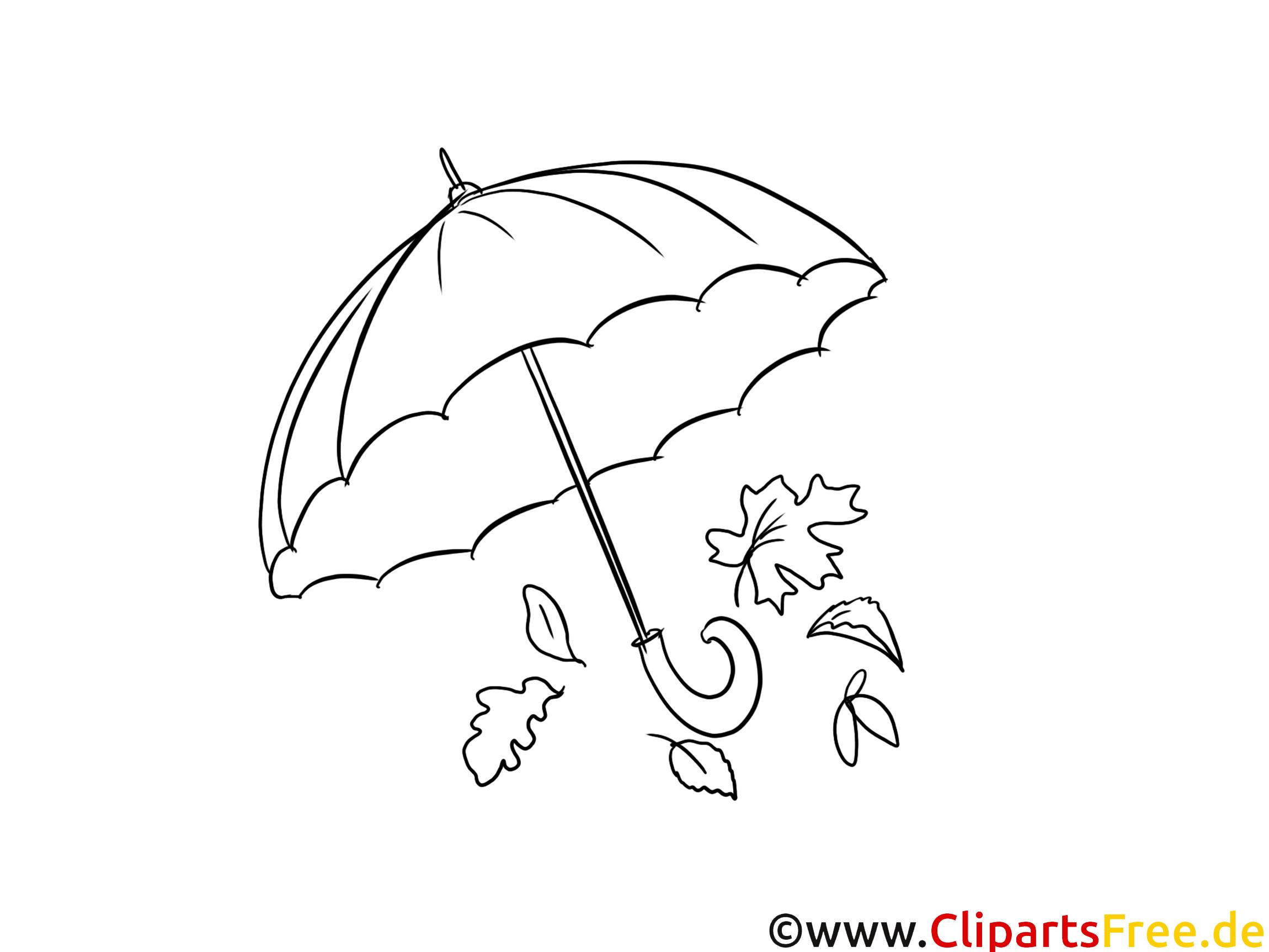 regenschirm malvorlagen für kinder