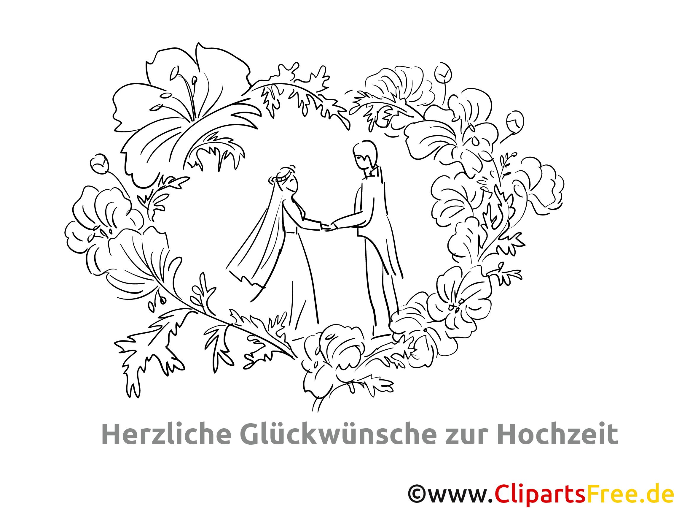 Blumenranken Romantik, Hochzeit, Liebe
