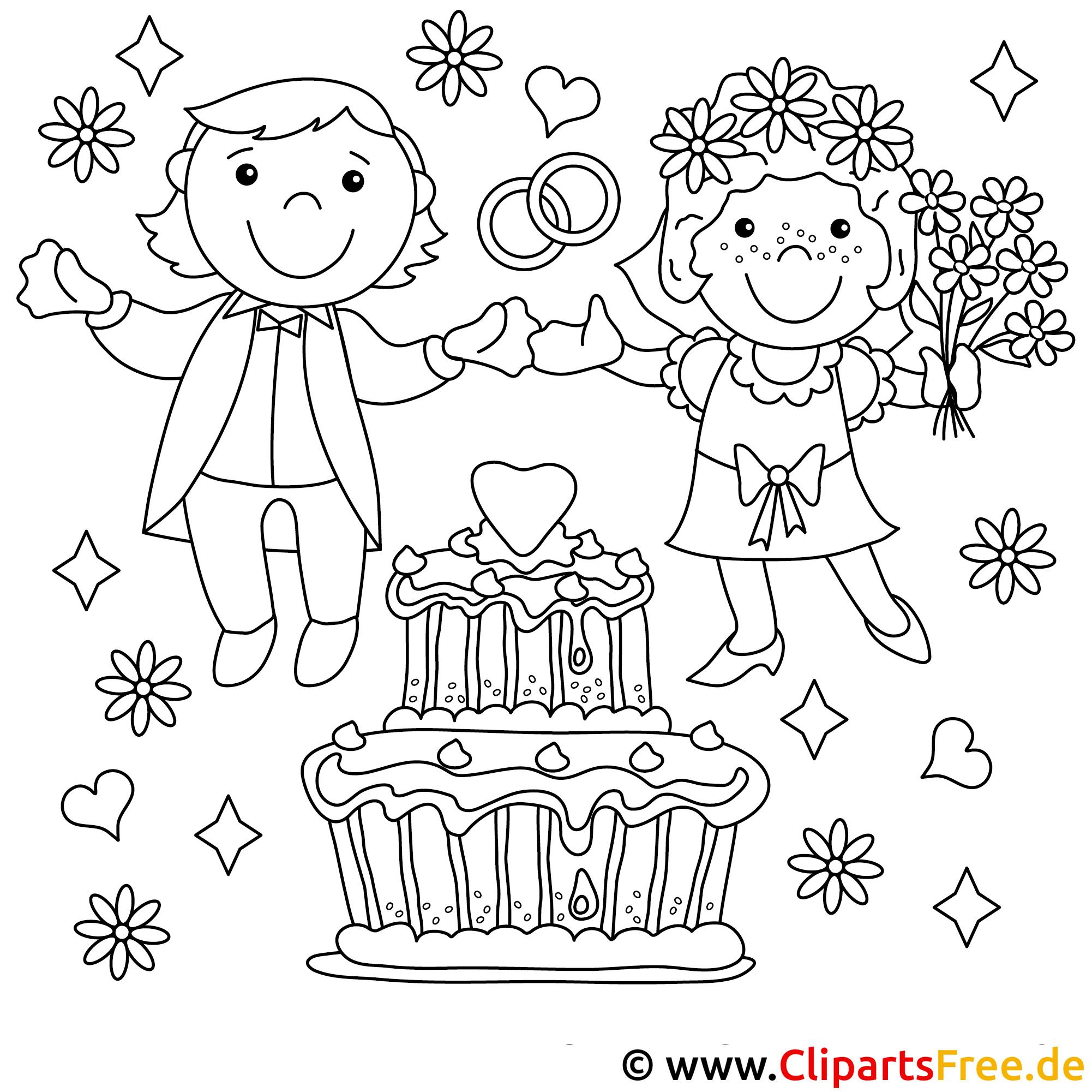 malvorlagen kinder hochzeit kostenlos  coloring and