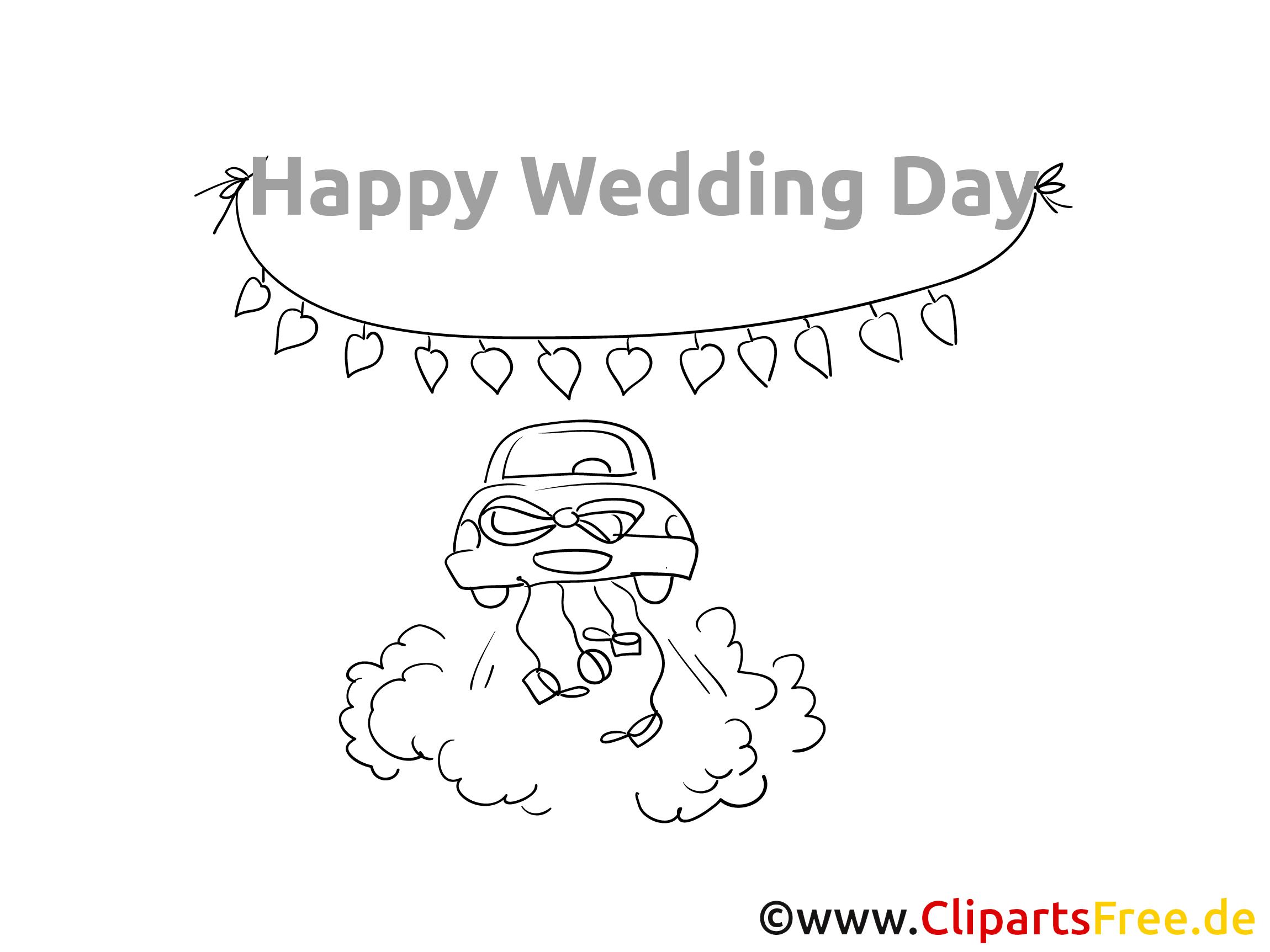 Hochzeitsausmalbilder zum Ausmalen