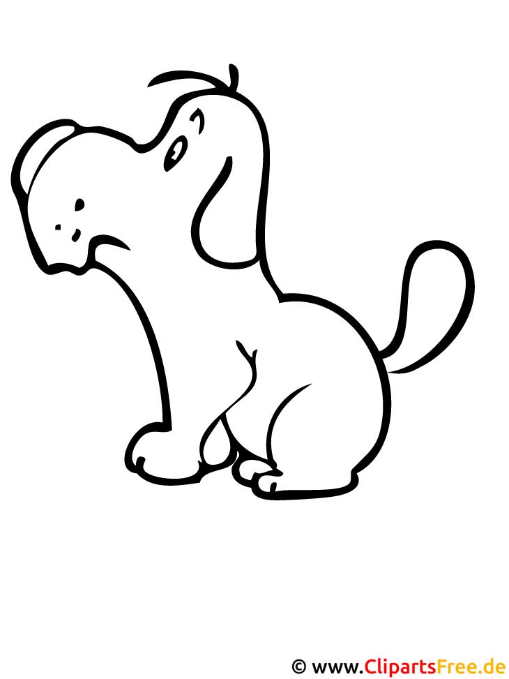 hund ausmalbild  hunde ausmalbilder