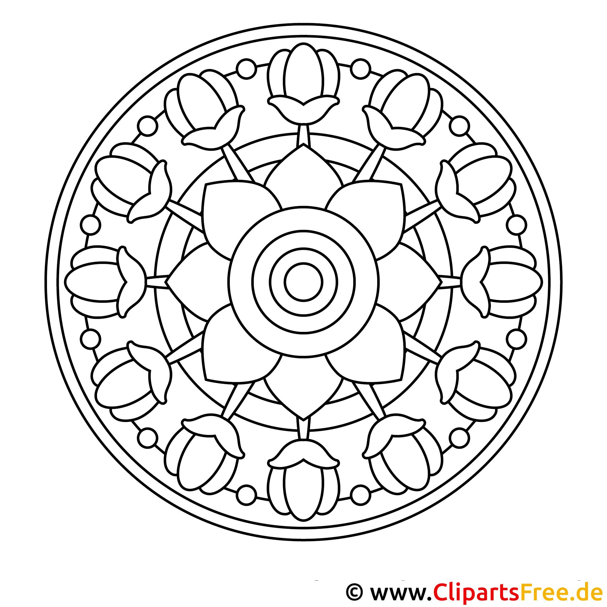 Mandala Fruehling