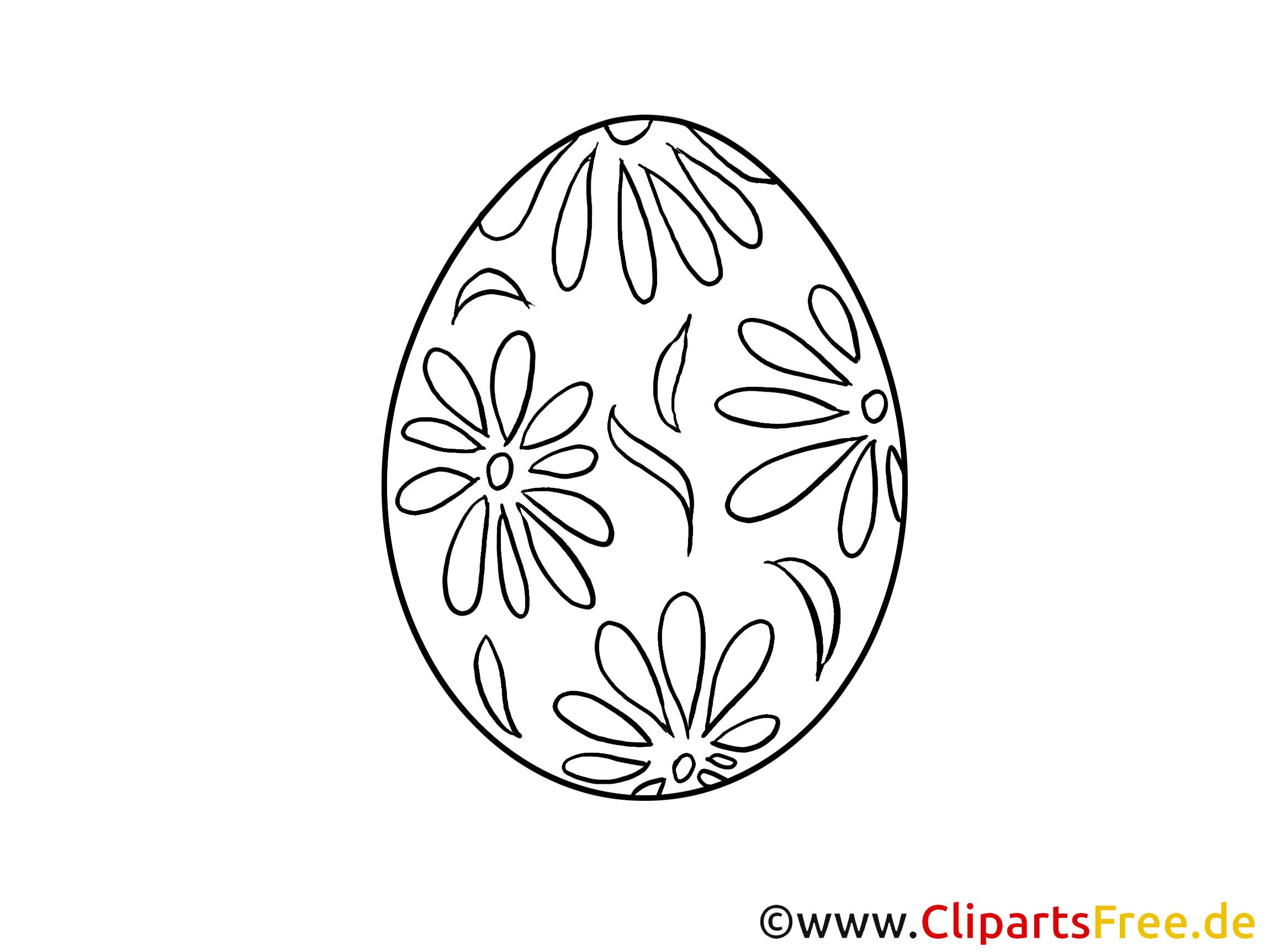 Ausmalbilder drucken zu Ostern im PDF-Format