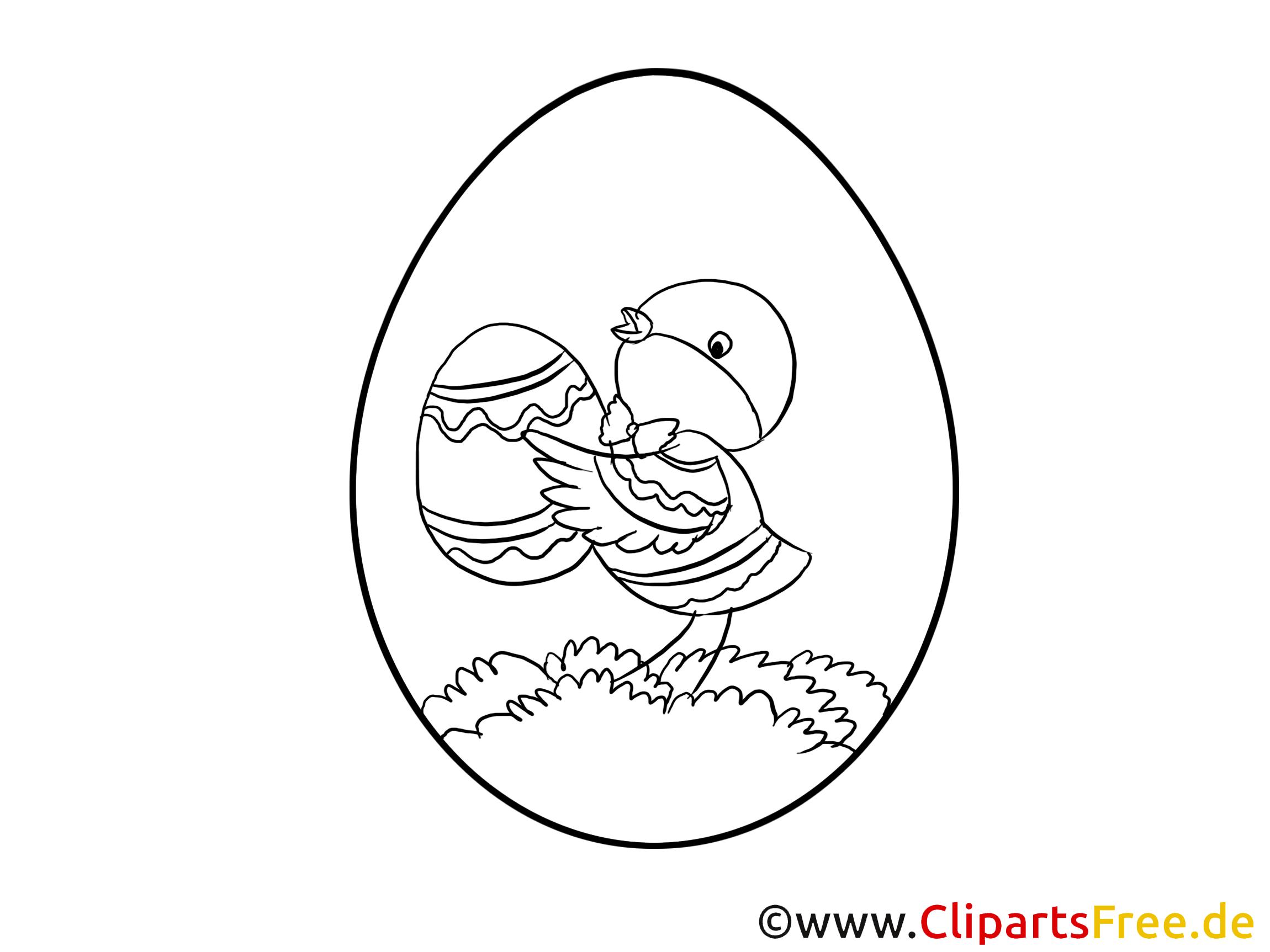 Ausmalbilder zum Drucken zu Ostern