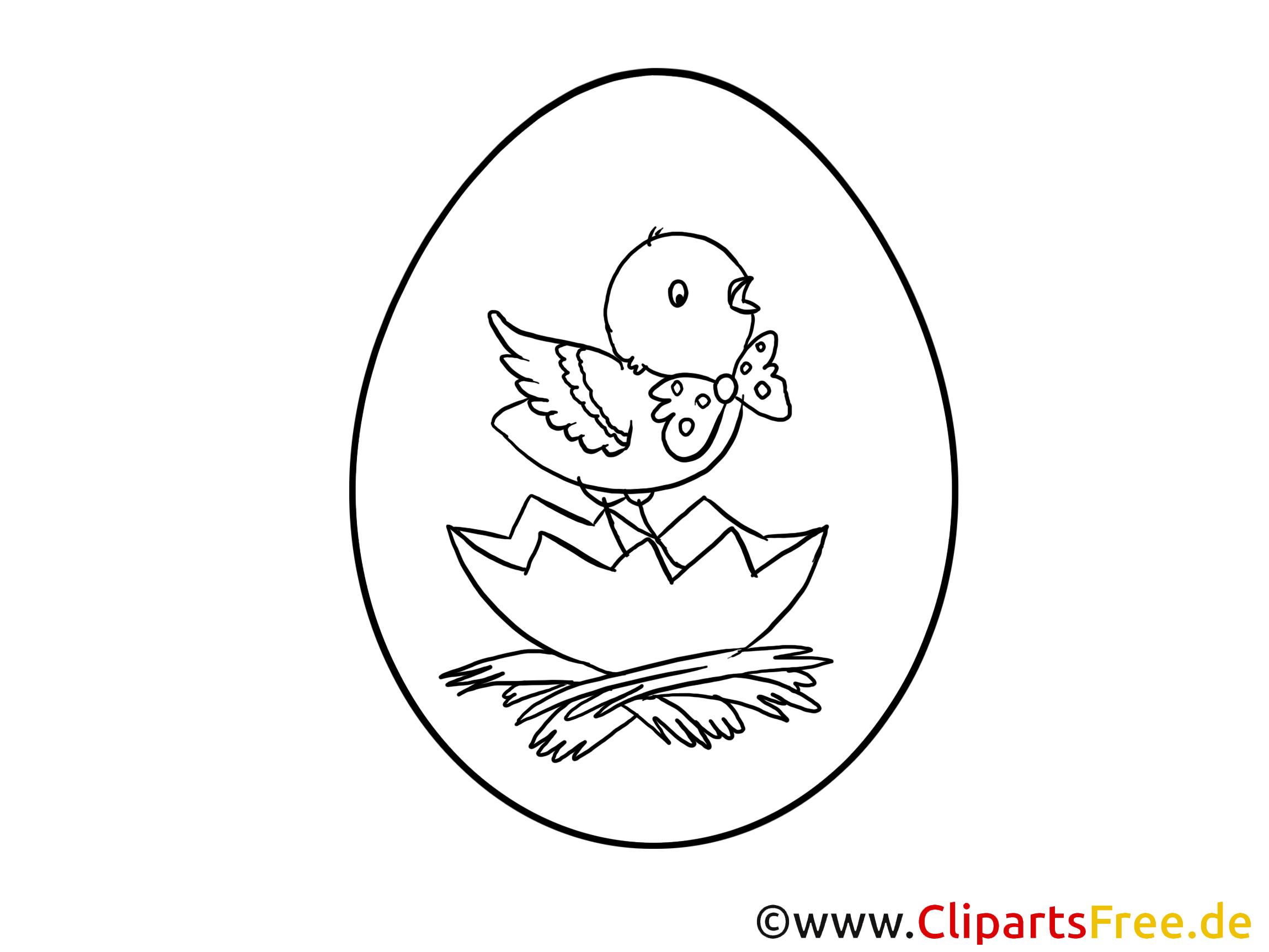 PDF Bilder ausmalen zu Ostern