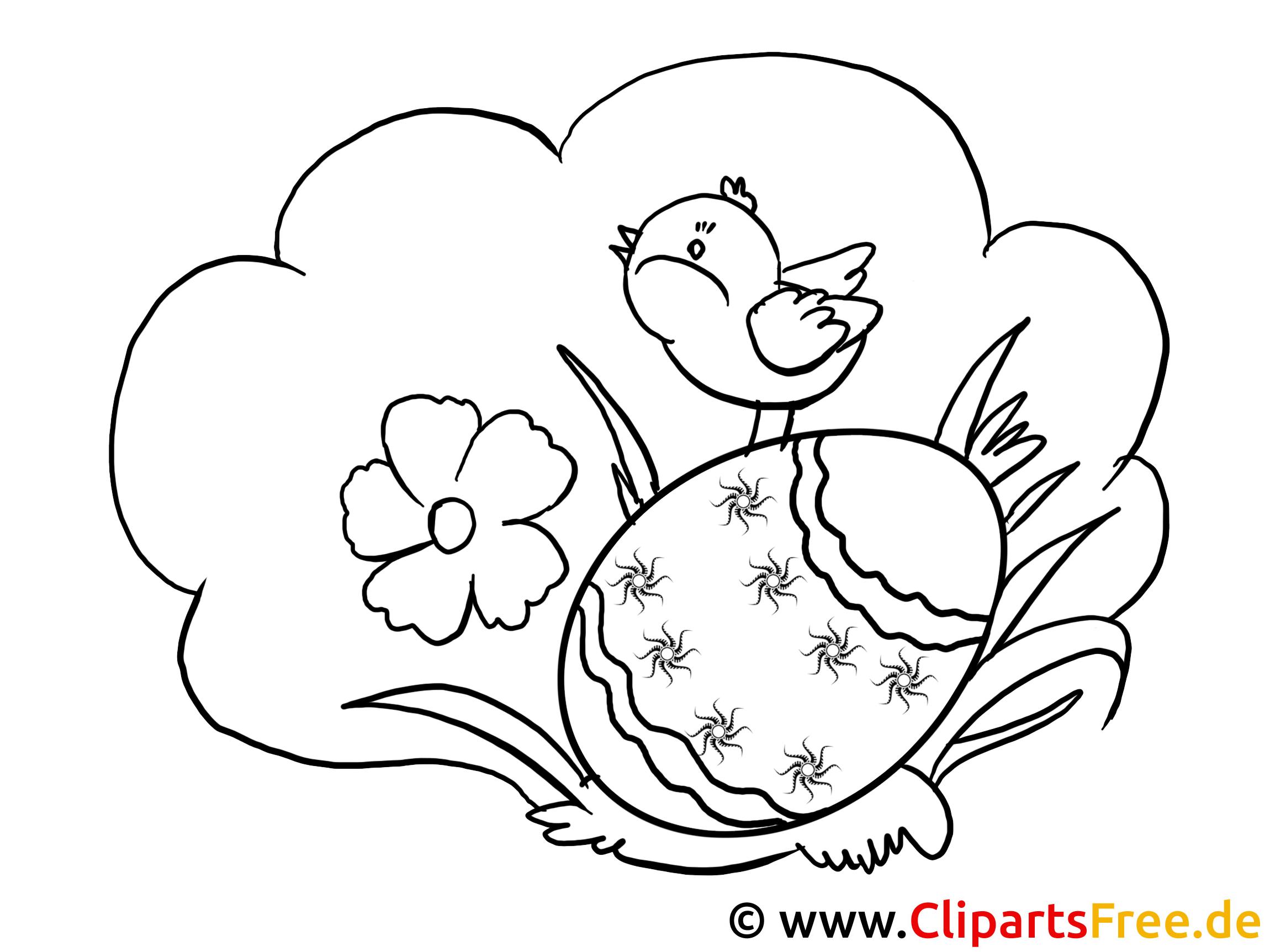 Easter drawings as PDF