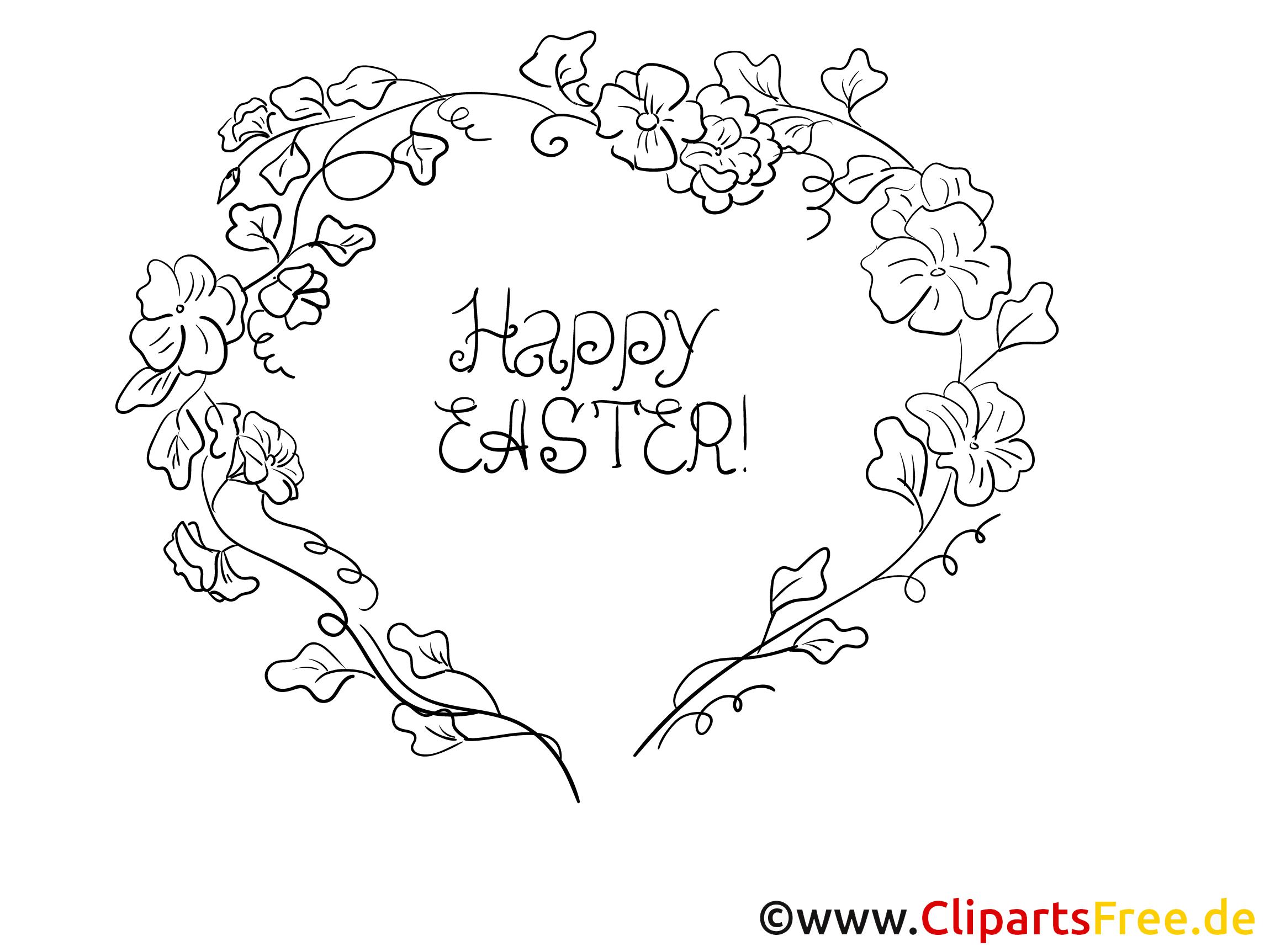 Happy Easter Bild zu Ostern kostenlos