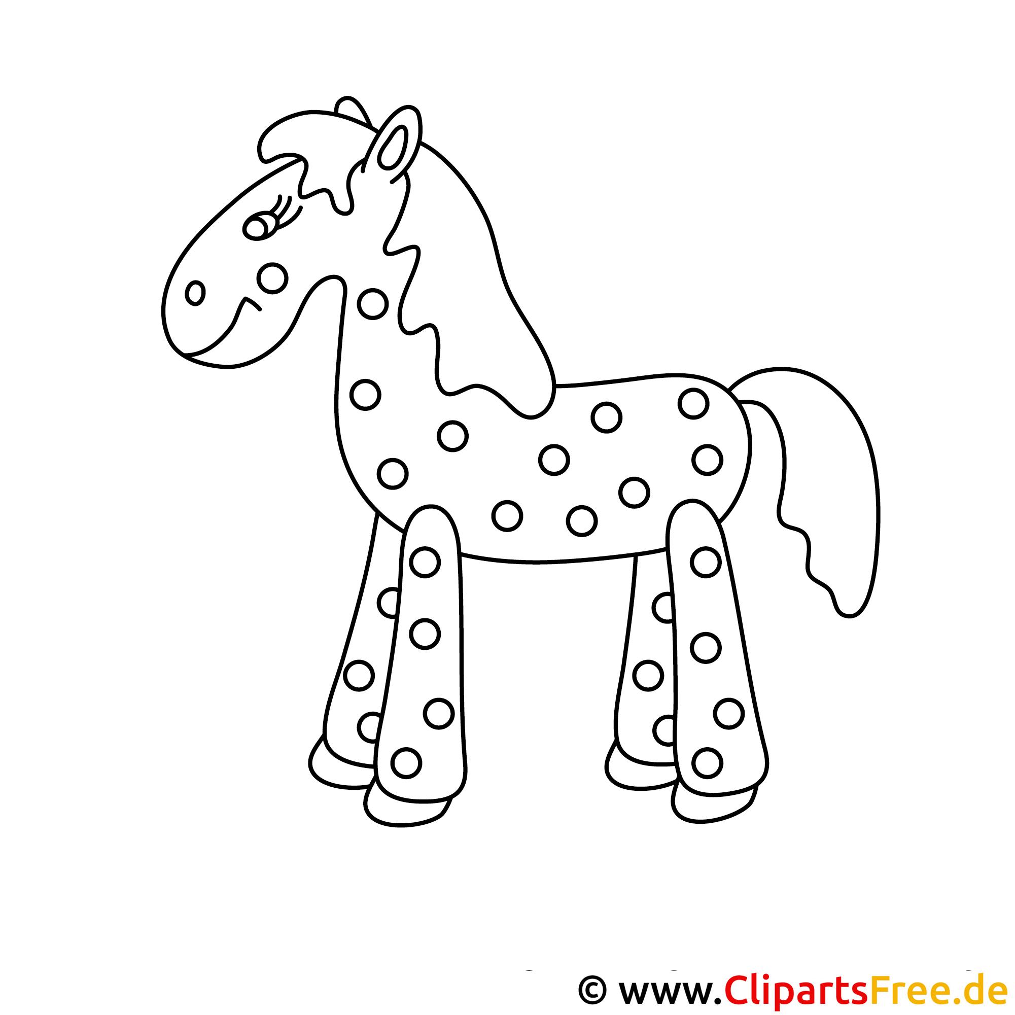 lustiges pferd  pferde malvorlagen kostenlos
