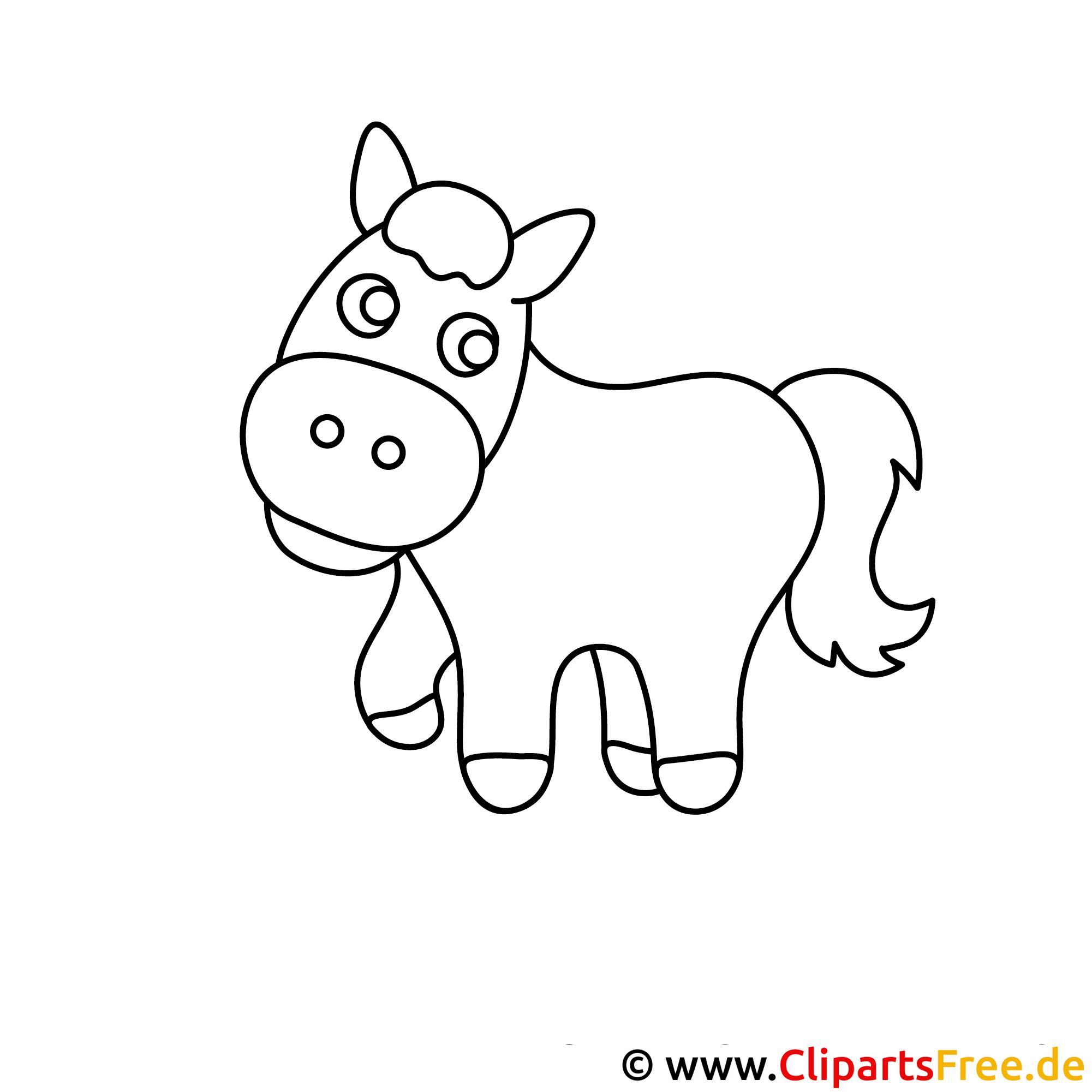 pony ausmalbild  pferde ausmalbilder kostenlos