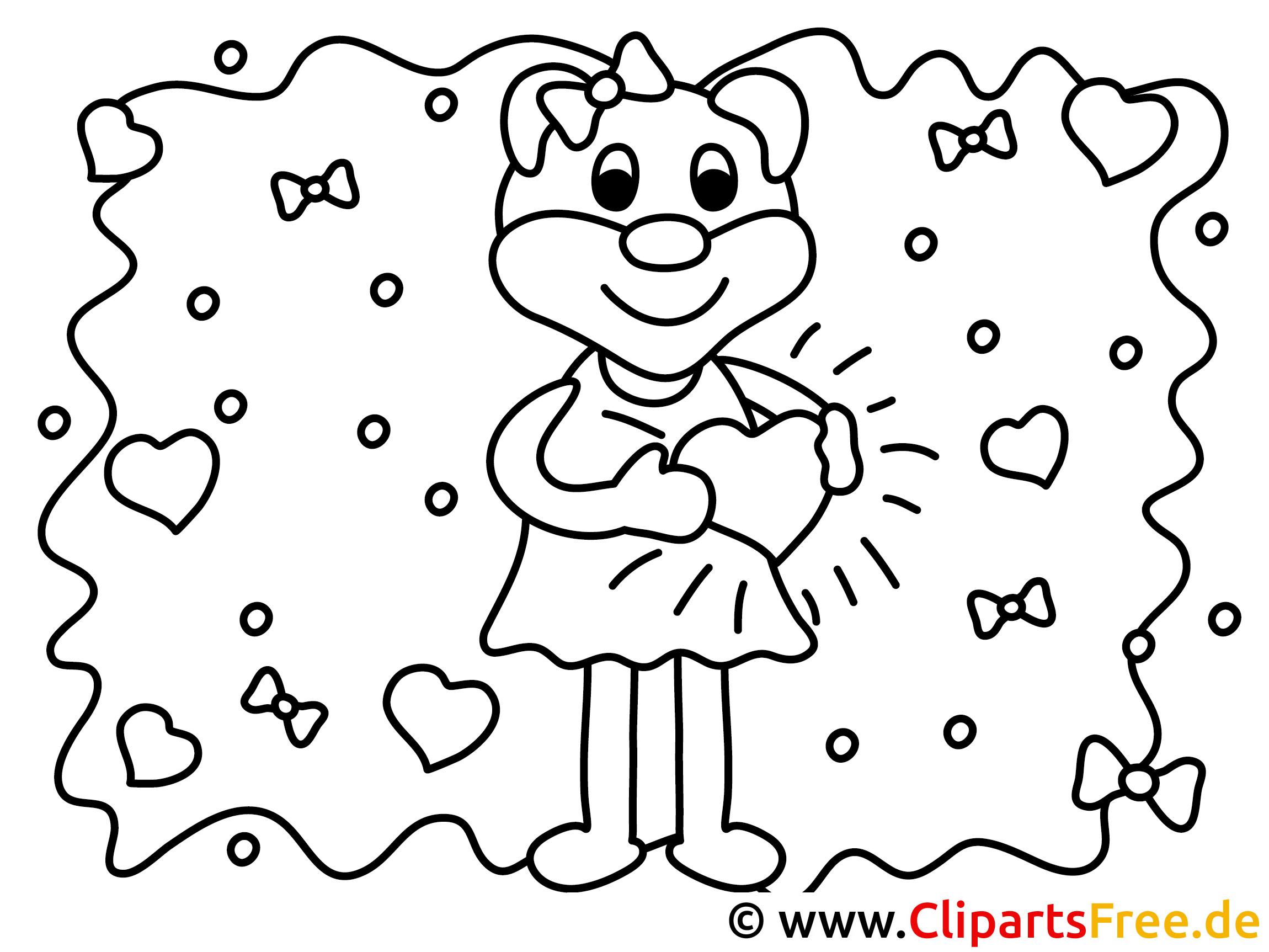 valentinstag vorlage zum ausmalen