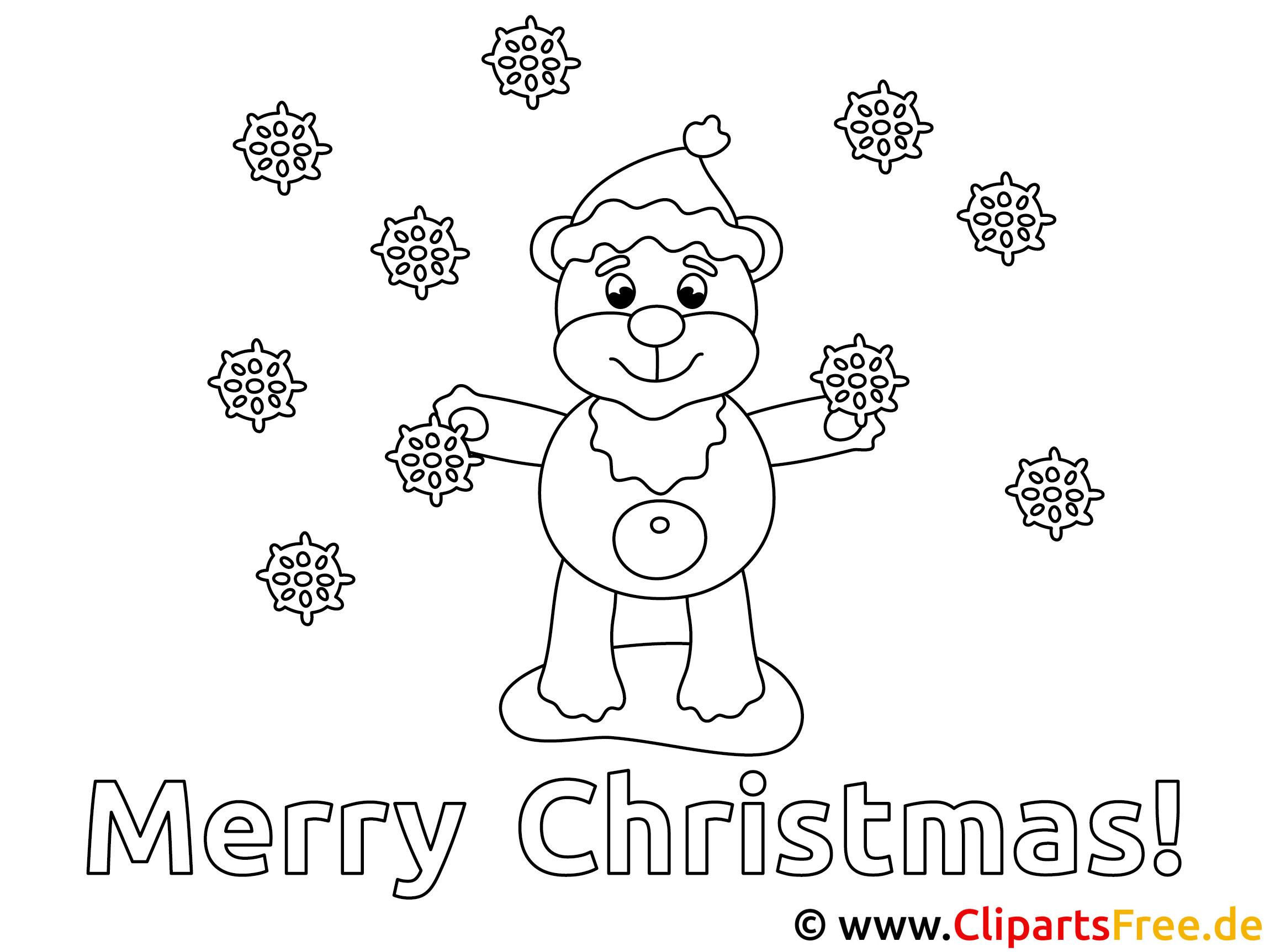 weihnachtliche bilder zum ausmalen