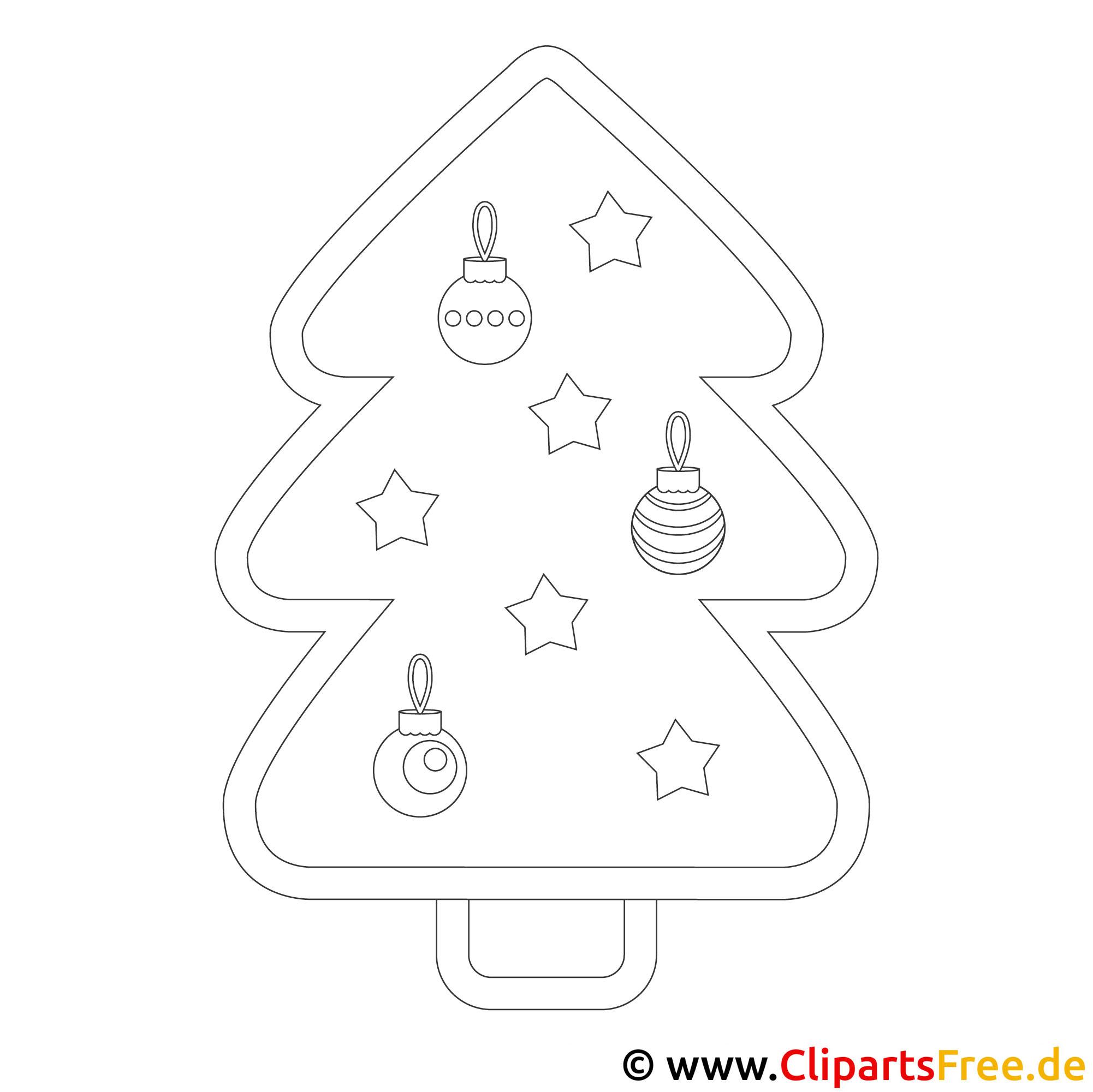 weihnachtsbaum windowcolor  vorlage kostenlos