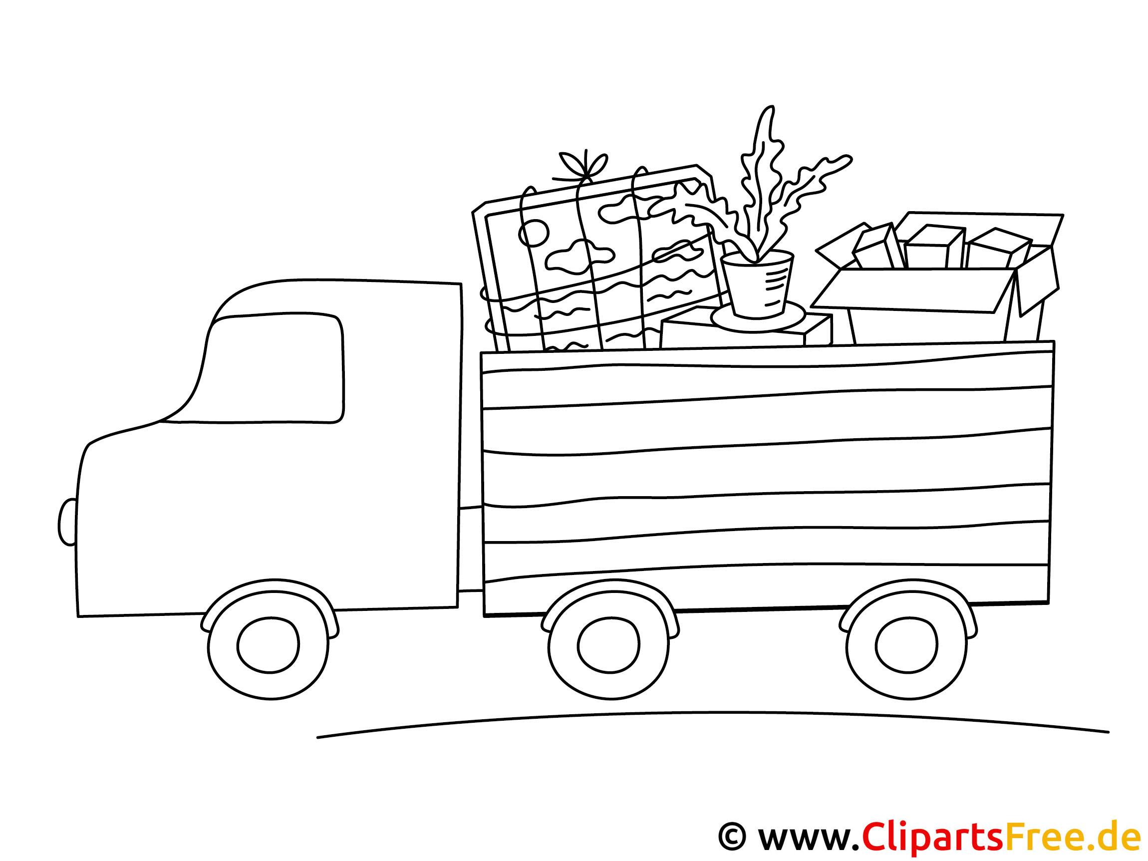 ausmalbild lkw  lastkraftwagen
