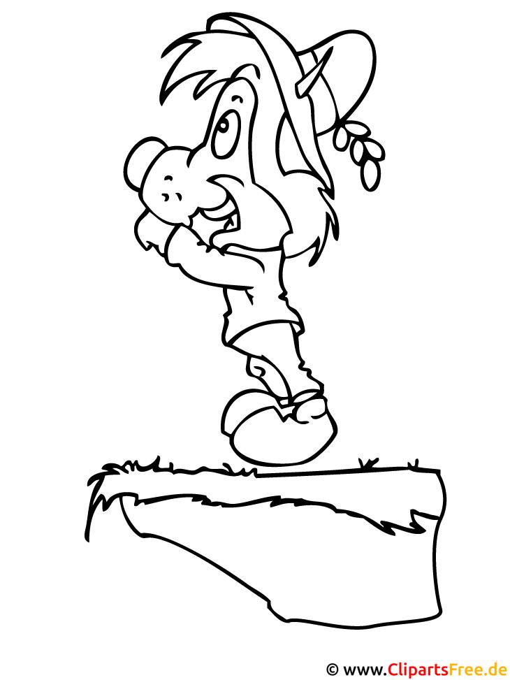 cartoon igel malvorlage gratis
