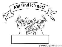 Illustration Abizeitung