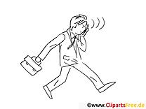 Mann im Anzug mit Handy Bilder online zum Drucken und Ausmalen