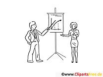 Präsentation - Bilder online zum Drucken und Ausmalen