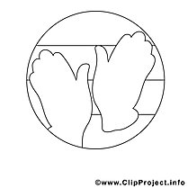 Zwei Hände Bild zum Ausmalen, Malvorlage, Ausmalbild