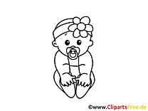 100+ baby ausmalbilder kostenlos zum ausdrucken
