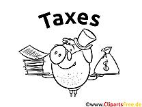 Coloring Sheet Taxes